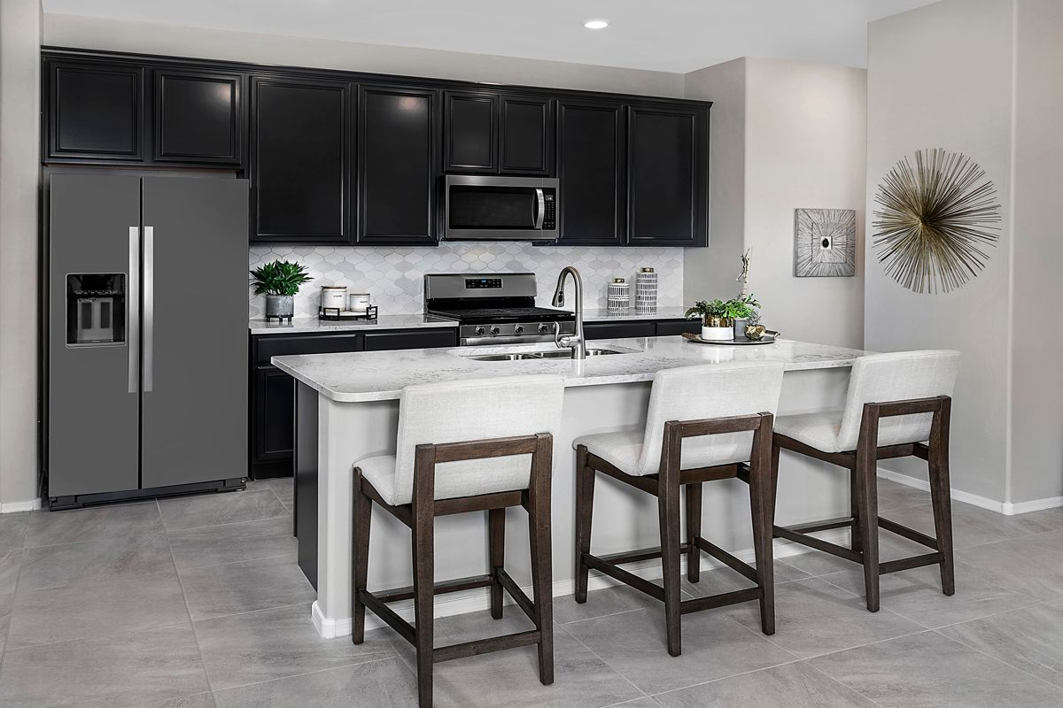 Kitchen featured in the Plan 1745 Modeled By KB Home in Tucson, AZ