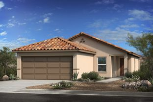 Plan 1383 - Entrada Del Rio at Rancho Sahuarita: Sahuarita, Arizona - KB Home