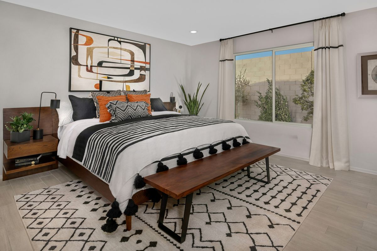 Bedroom featured in the Plan 1728 Modeled By KB Home in Tucson, AZ