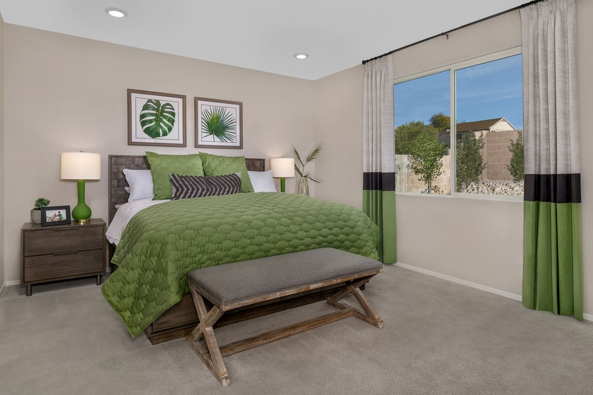 Bedroom featured in the Plan 1842 Modeled By KB Home in Tucson, AZ