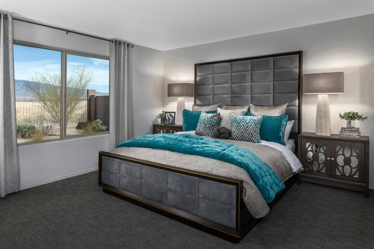 Bedroom featured in the Plan 1745 Modeled By KB Home in Tucson, AZ