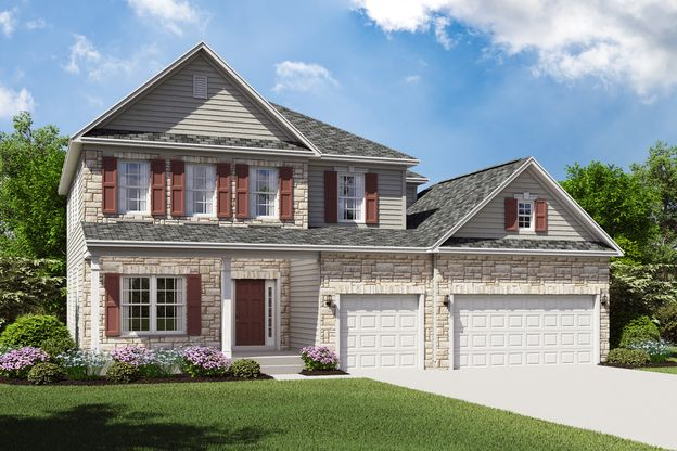 Exterior:Hopewell H with opt. stone