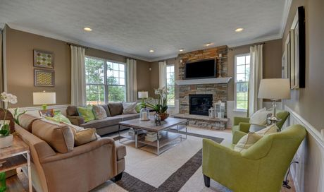 Edgebrook in Strongsville OH New Homes Floor Plans by K