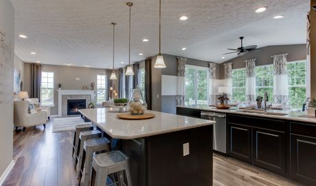 Belden Pointe in Avon Lake OH New Homes Floor Plans by K
