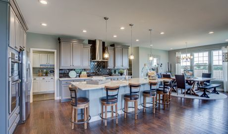 Sagebrook in South Elgin IL New Homes Floor Plans by K