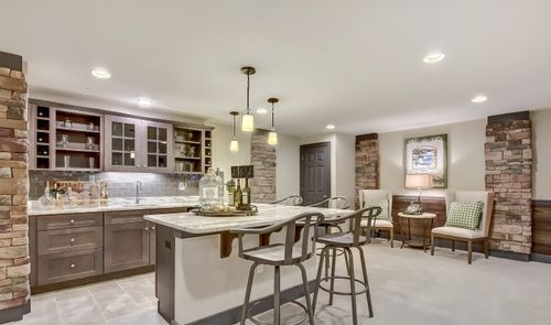 Wet-Bar-in-Wheaton-at-Four Ponds at Lincroft-in-Lincroft