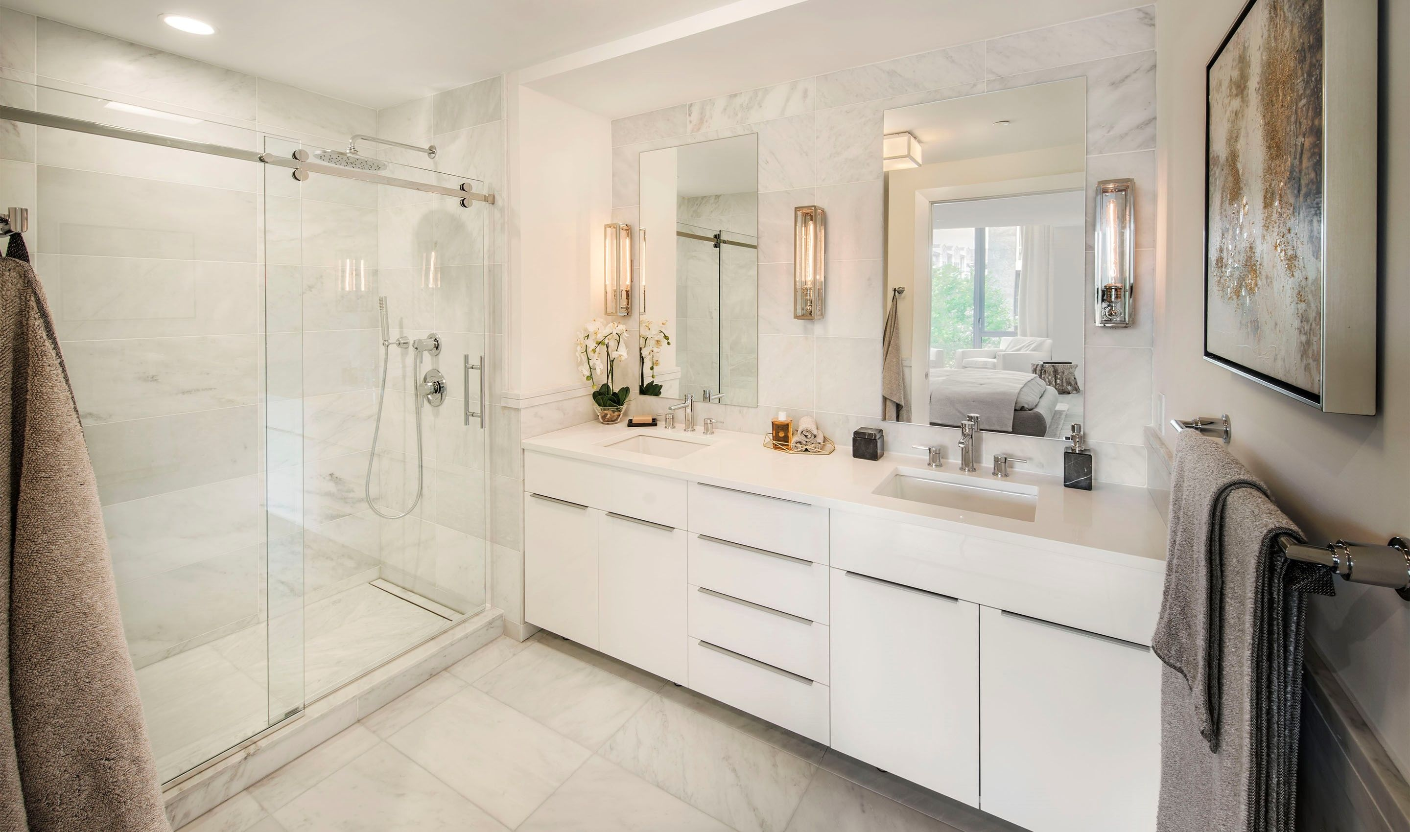 Bathroom featured in the C20 By K. Hovnanian® Homes in Hudson County, NJ