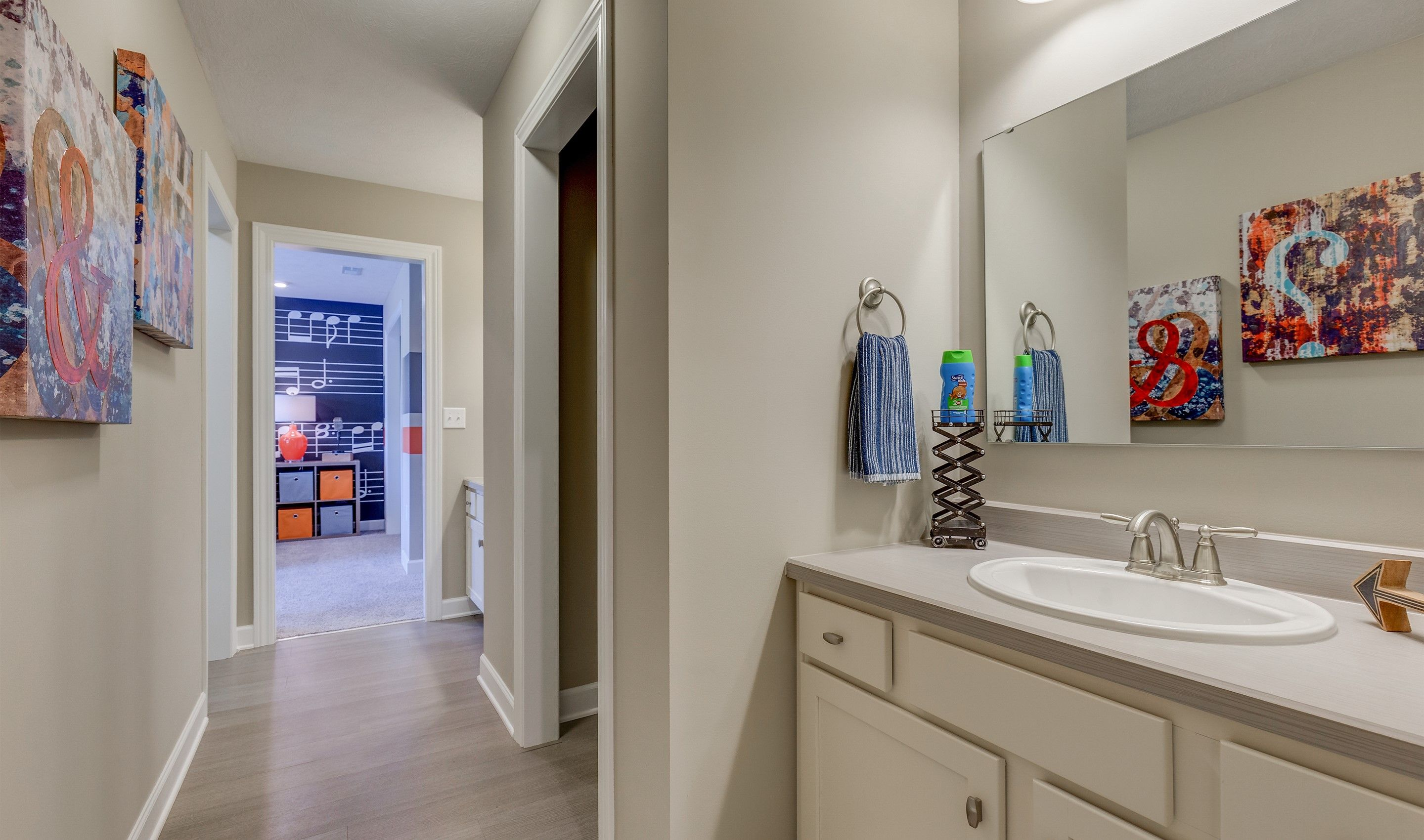 Bathroom featured in the Thorndale By K. Hovnanian® Homes - Build on Your Lot in Pittsburgh, PA