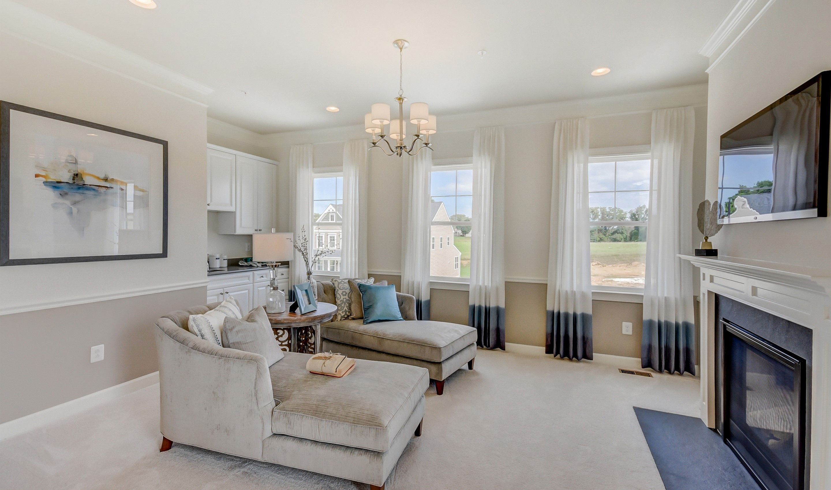 Living Area featured in the Colorado II By K. Hovnanian® Homes in Dover, DE