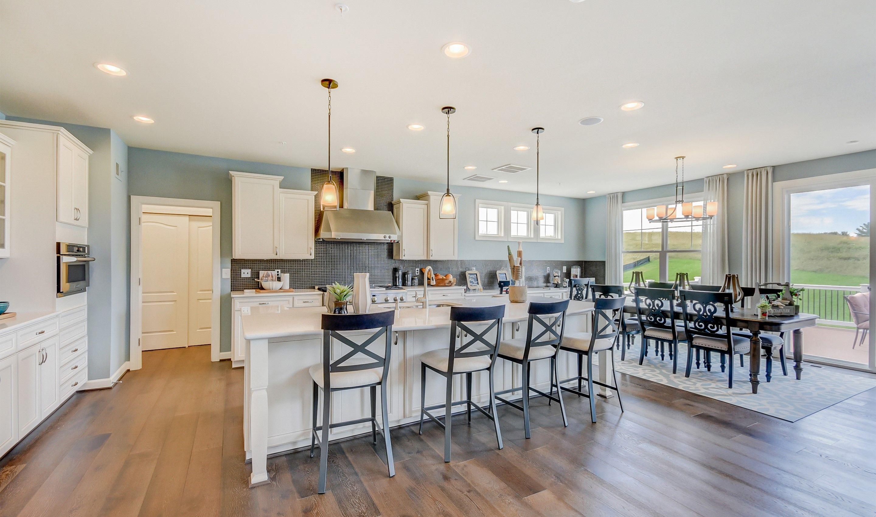 Kitchen featured in the Colorado II By K. Hovnanian® Homes in Dover, DE