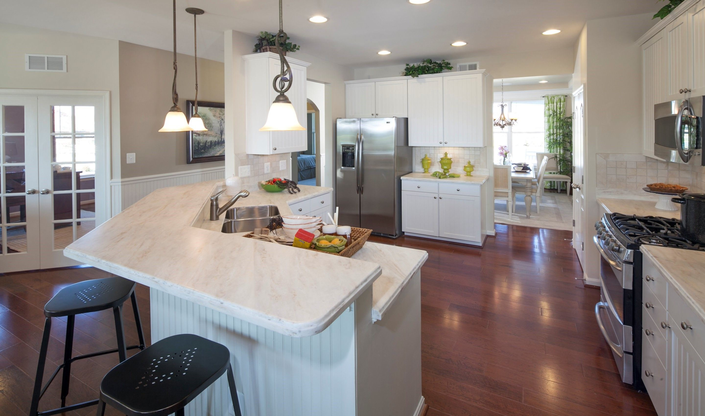Kitchen featured in the Jasmine By K. Hovnanian® Homes in Sussex, DE