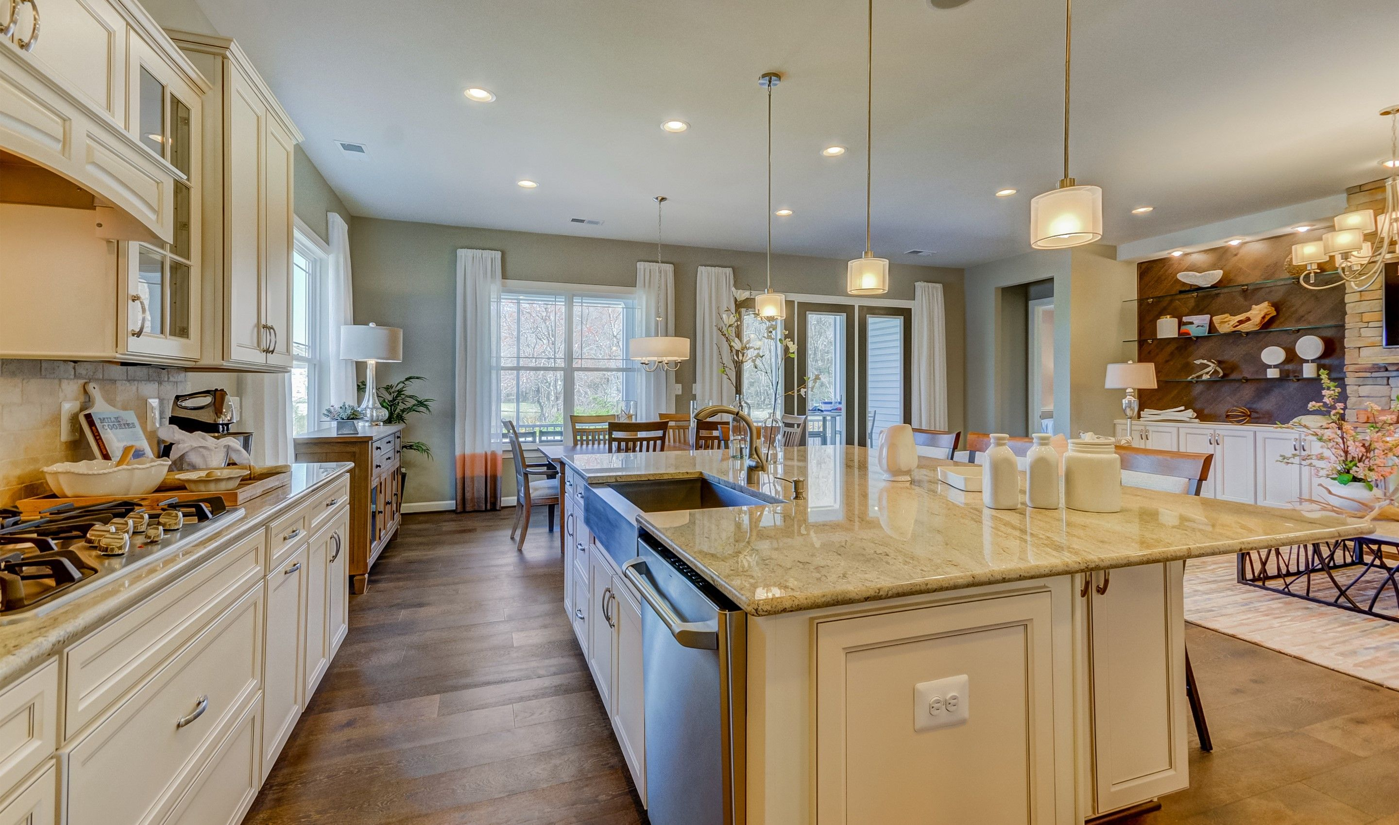 Kitchen featured in the Lewes I By K. Hovnanian's® Four Seasons in Wilmington-Newark, DE