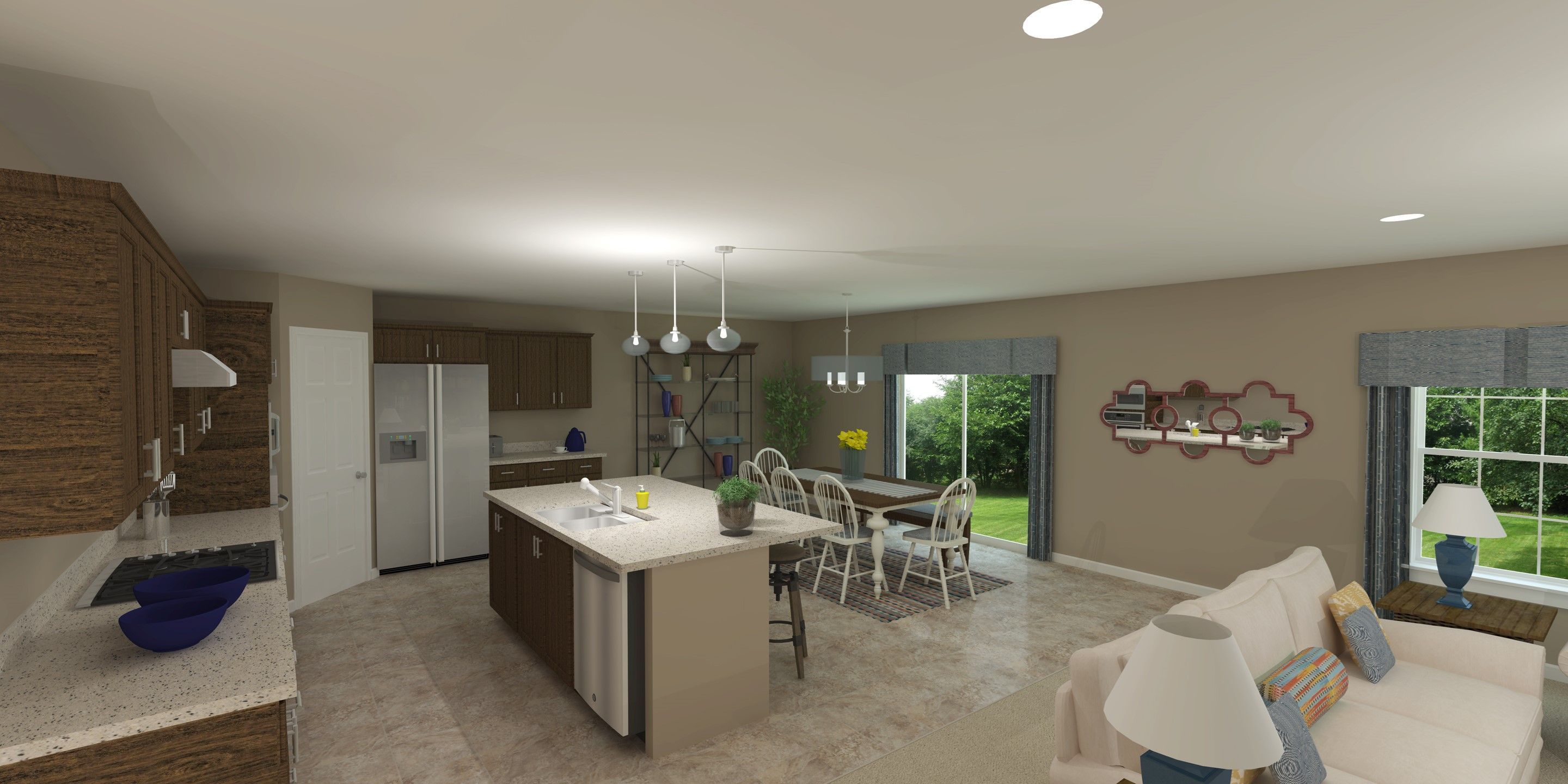 Living Area featured in the Chandler By K. Hovnanian® Homes - Build on Your Lot