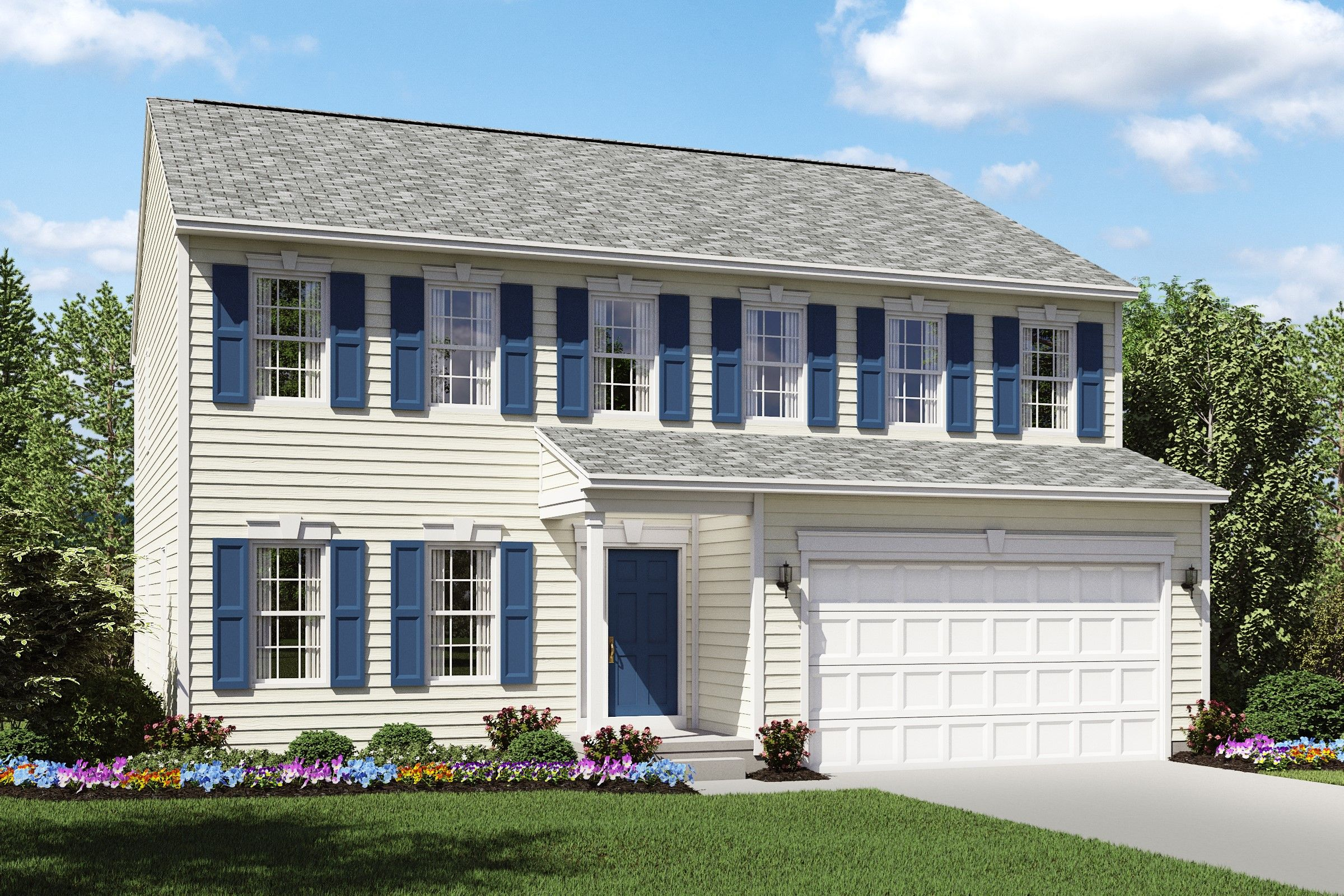 Exterior featured in the Brantwood By K. Hovnanian® Homes in Cleveland, OH