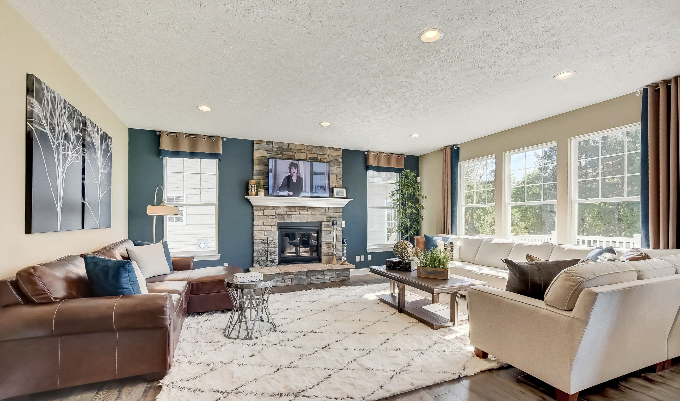 Living Area featured in the Anderson By K. Hovnanian® Homes in Cleveland, OH