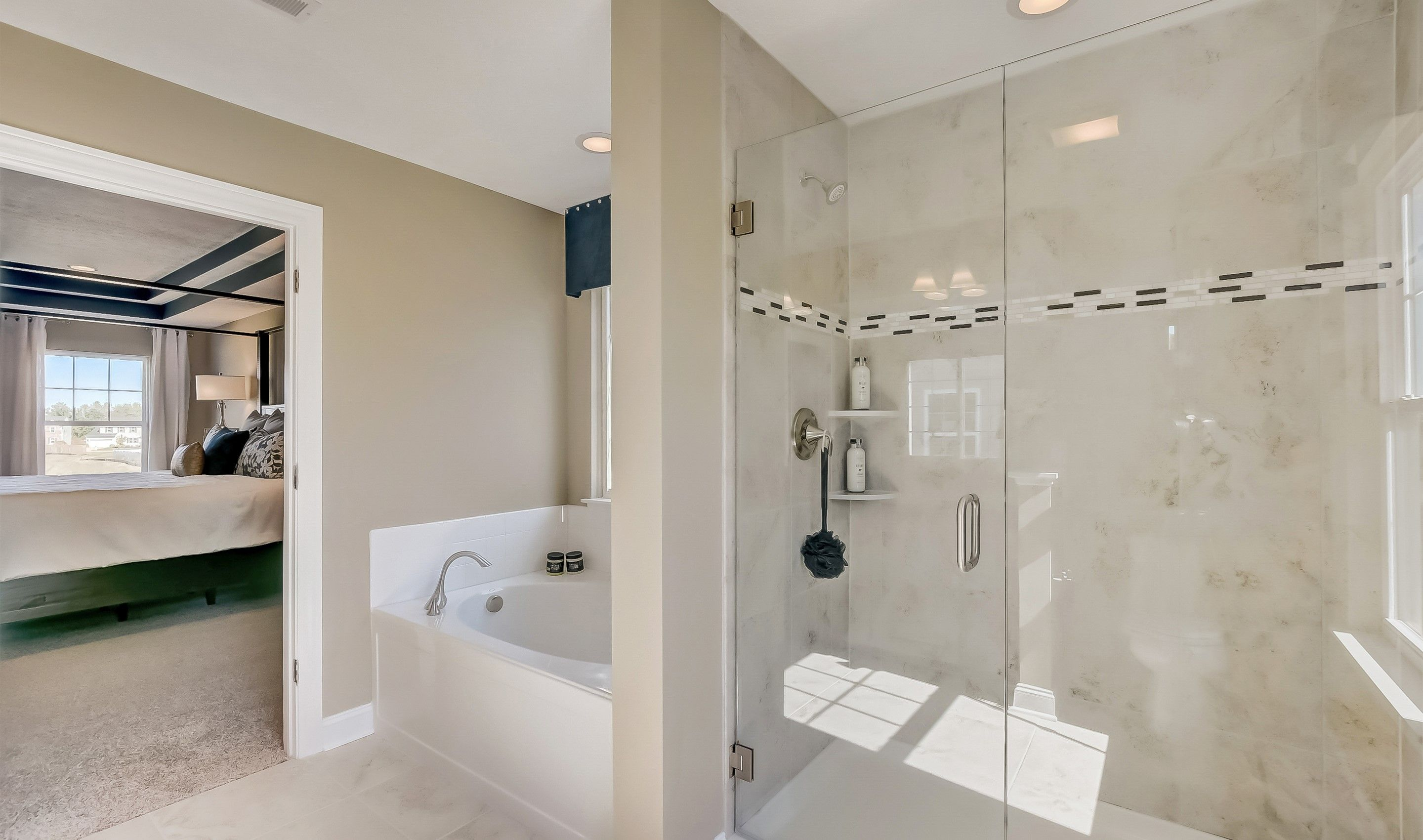 Bathroom featured in the Anderson By K. Hovnanian® Homes in Cleveland, OH