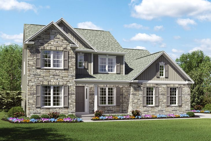 Exterior:Baltimore C2 - with Partial Stone