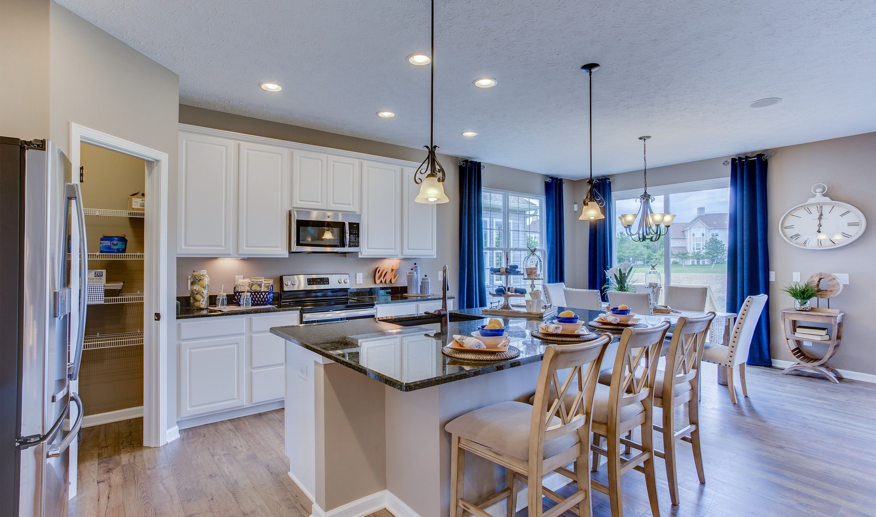 Kitchen featured in the Dorchester Loft By K. Hovnanian's® Four Seasons in Cleveland, OH