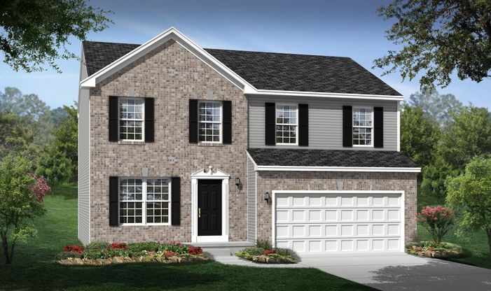 The Landings At Martin S Run In Lorain Oh New Homes Floor Plans By K Hovnanian