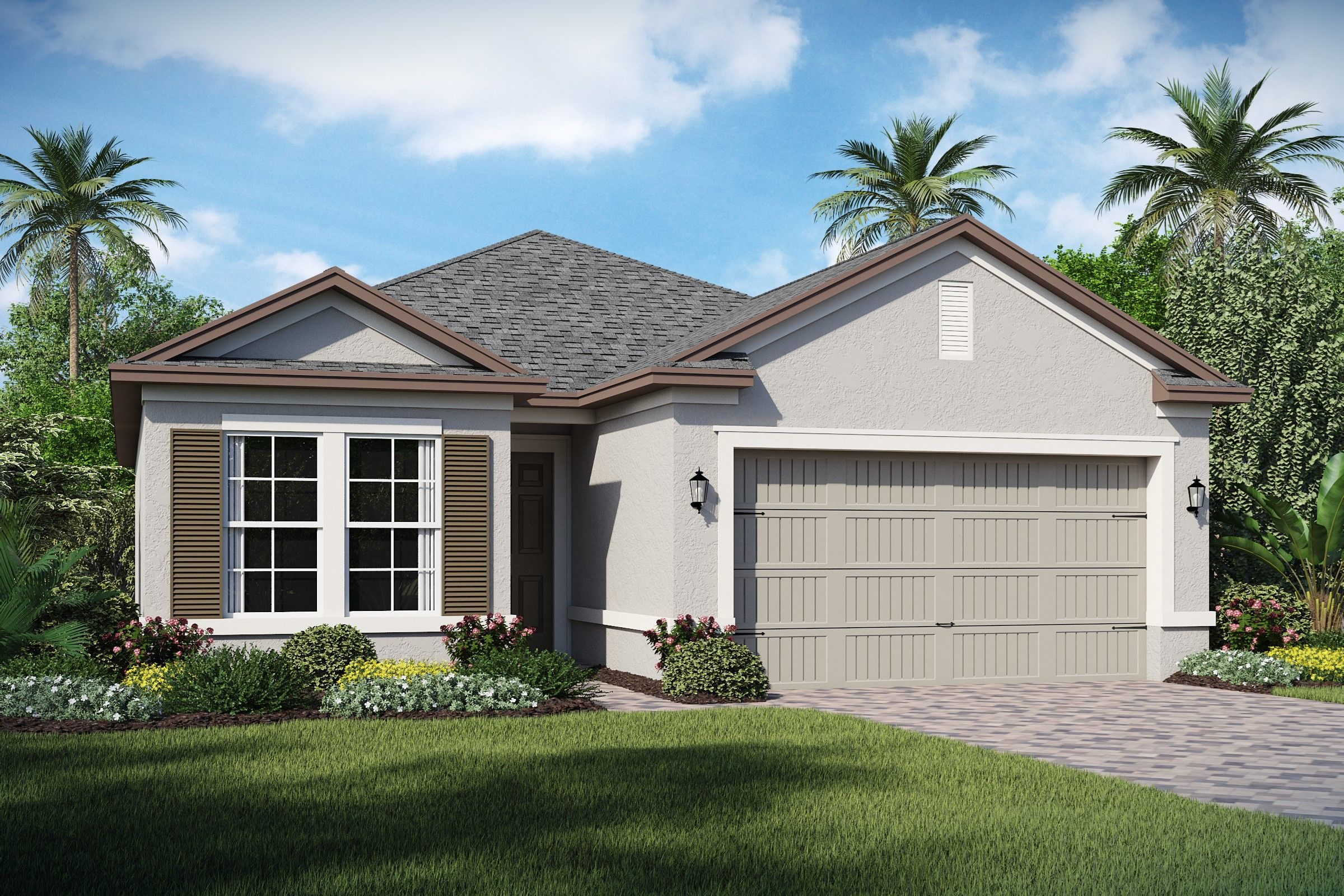 Exterior featured in the Balfour By K. Hovnanian's® Four Seasons in Orlando, FL