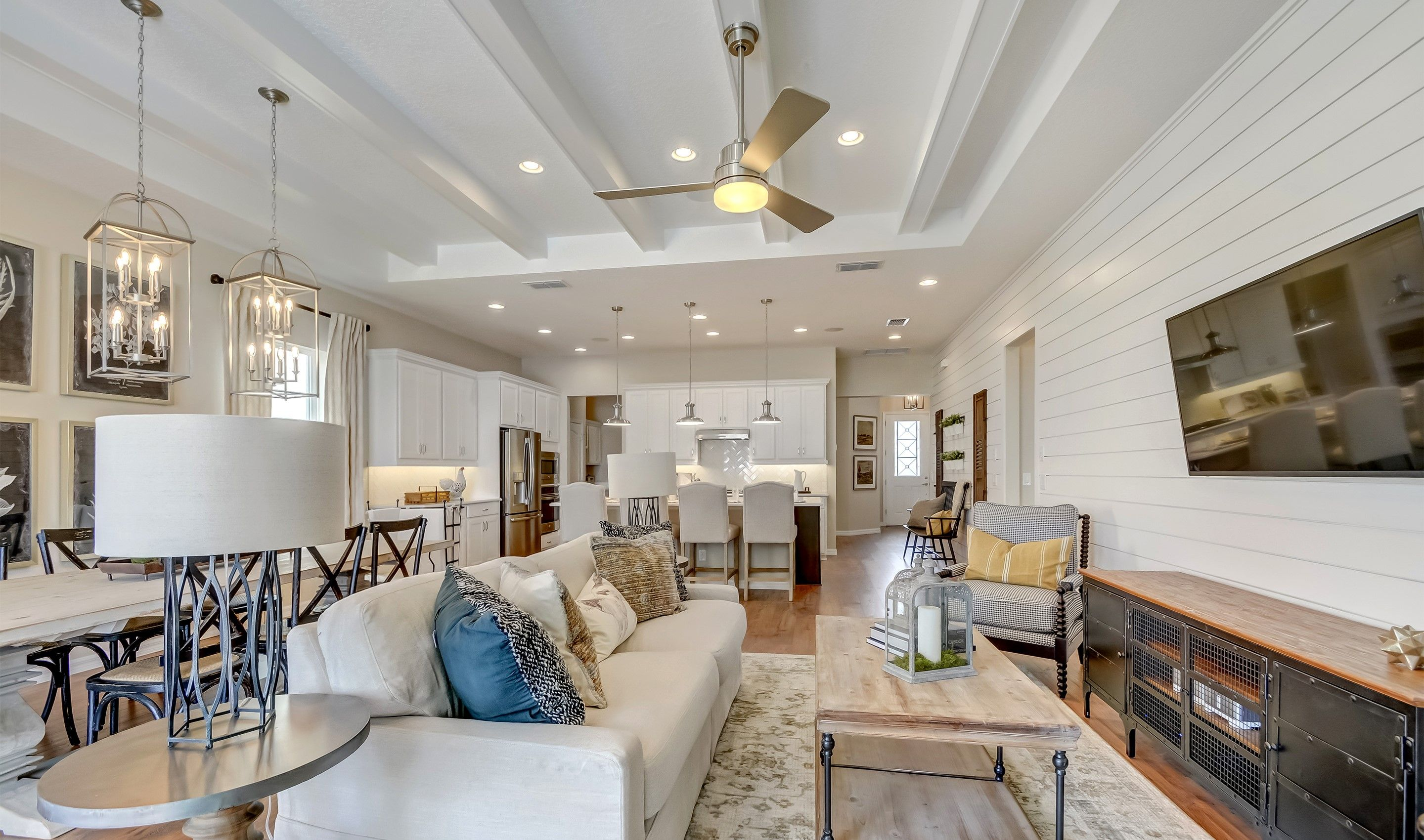 Living Area featured in the Balfour By K. Hovnanian's® Four Seasons in Orlando, FL