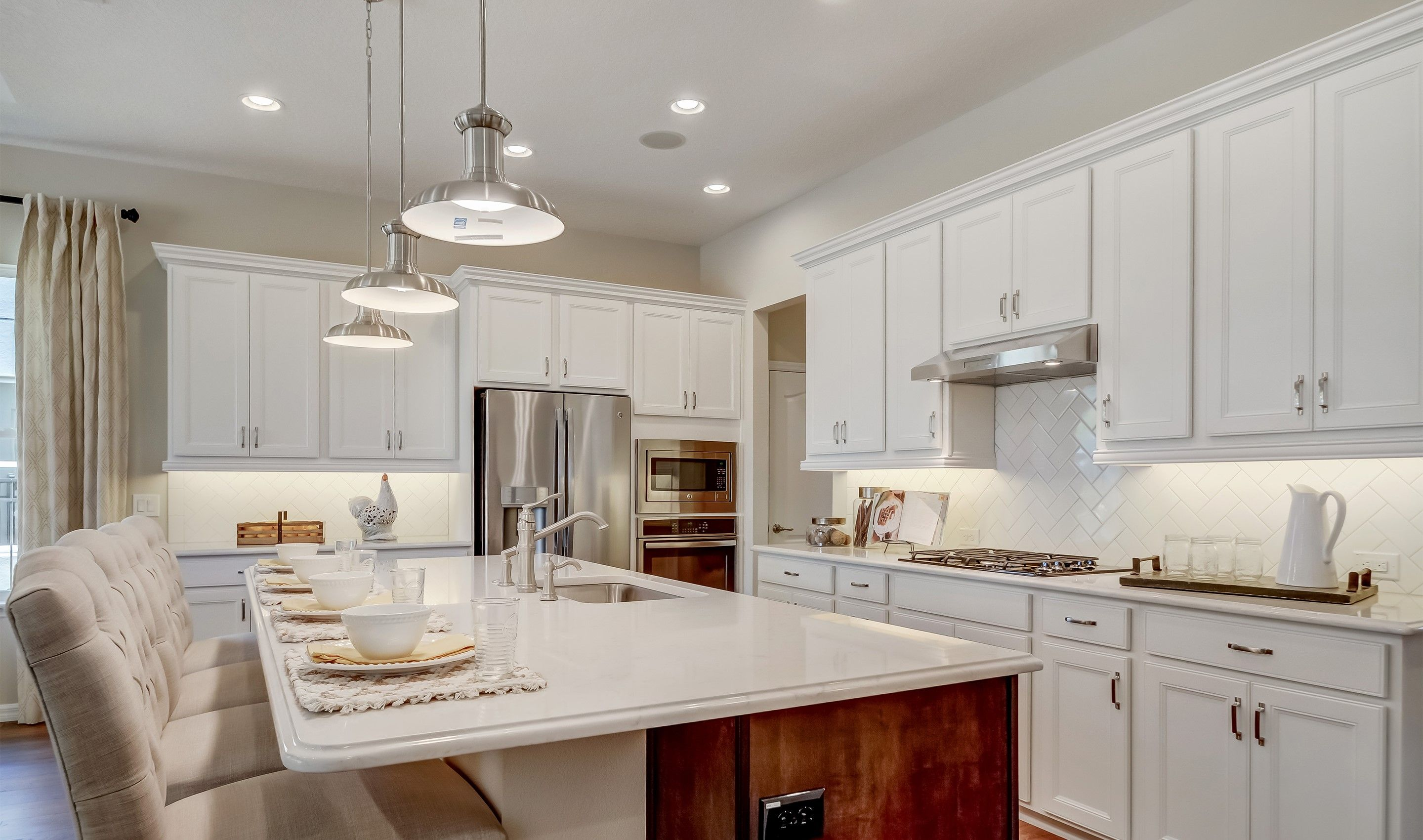 Kitchen featured in the Balfour By K. Hovnanian's® Four Seasons in Orlando, FL