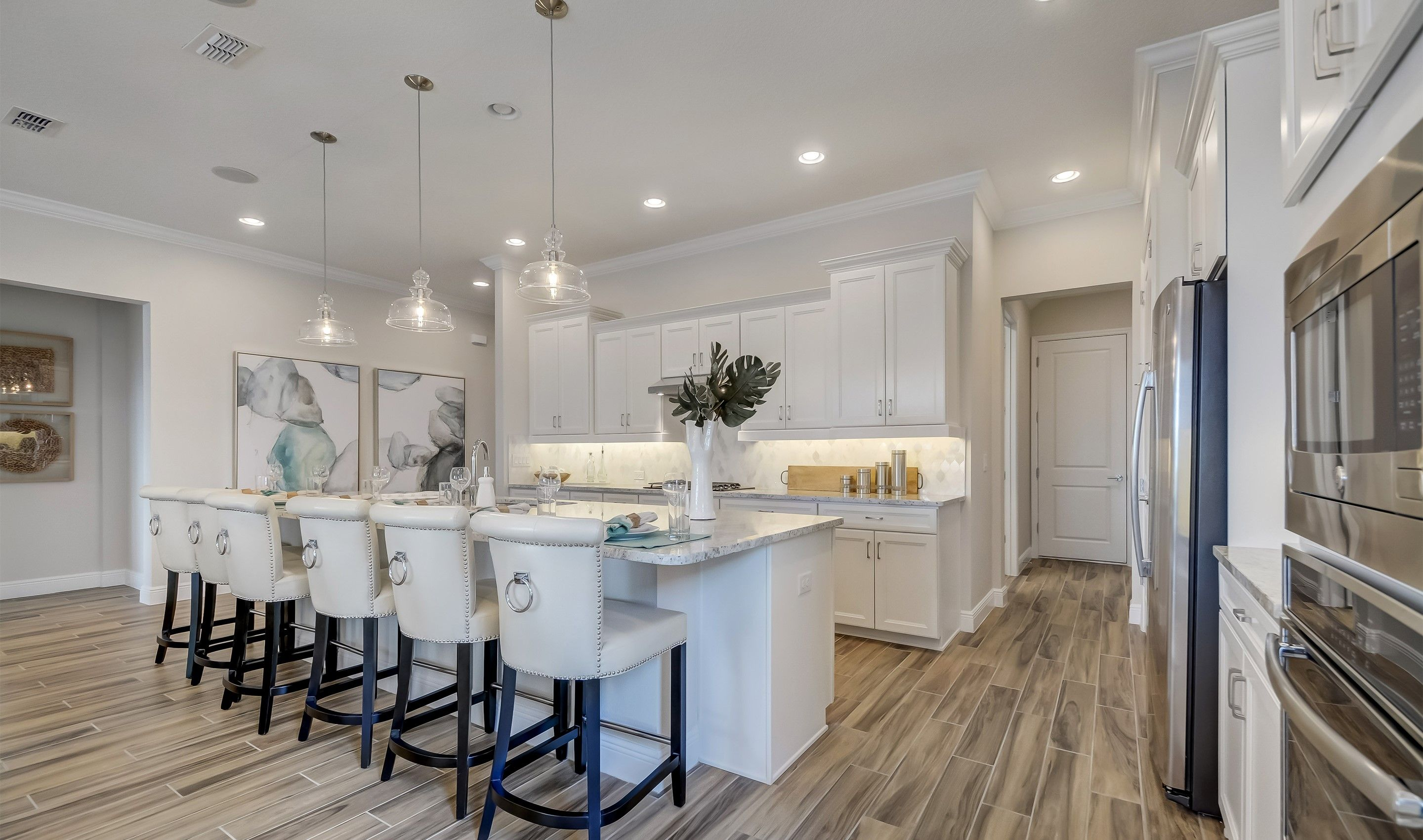 Kitchen-in-Saint Lucia-at-K. Hovnanian's® Four Seasons at Orlando-in-Kissimmee
