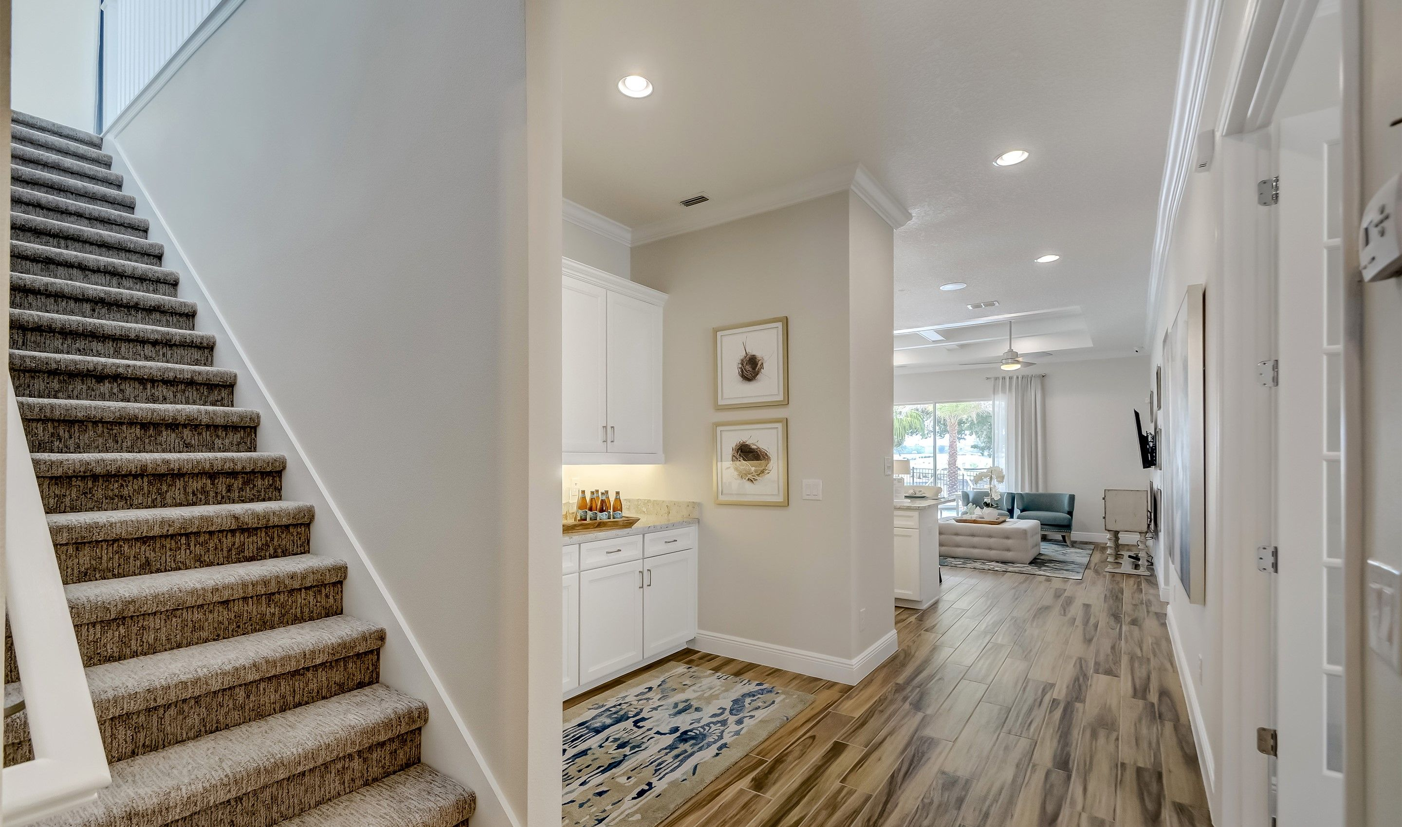 Stairway-in-Saint Lucia-at-K. Hovnanian's® Four Seasons at Orlando-in-Kissimmee