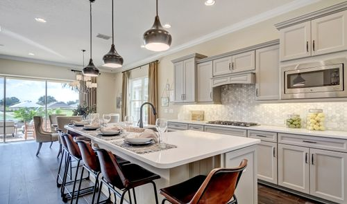 Kitchen-in-Saint Thomas-at-K. Hovnanian's® Four Seasons at Orlando-in-Kissimmee
