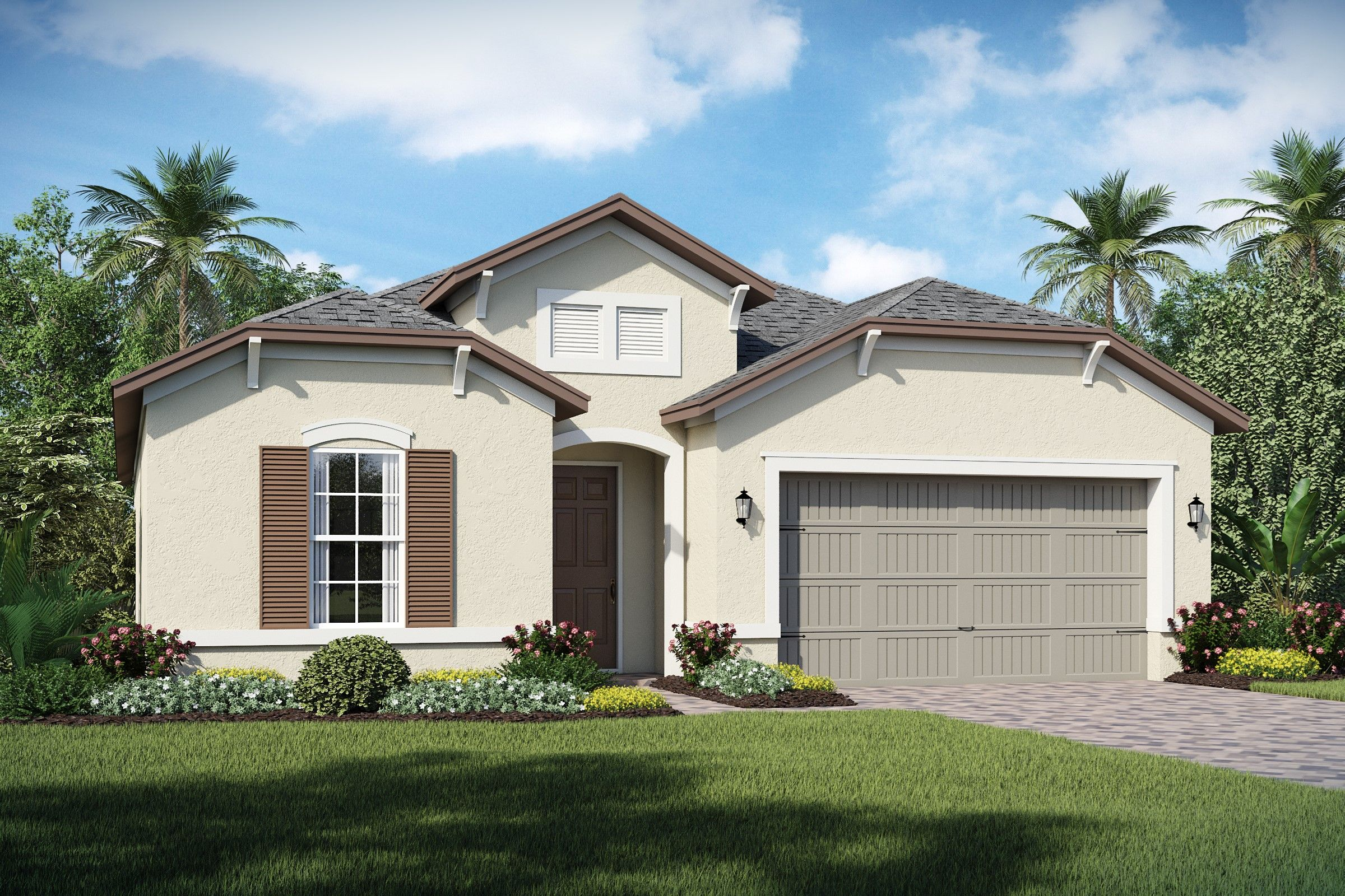 Exterior featured in the Stella By K. Hovnanian's® Four Seasons in Orlando, FL