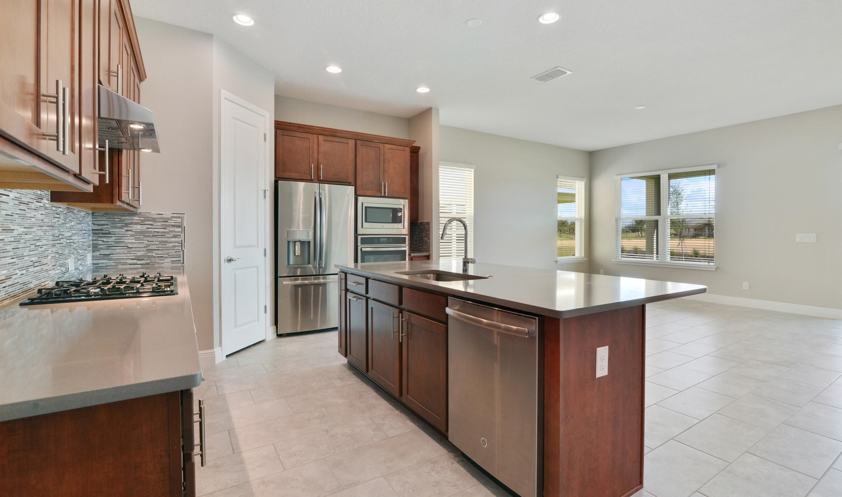 Kitchen featured in the Stella By K. Hovnanian's® Four Seasons in Orlando, FL