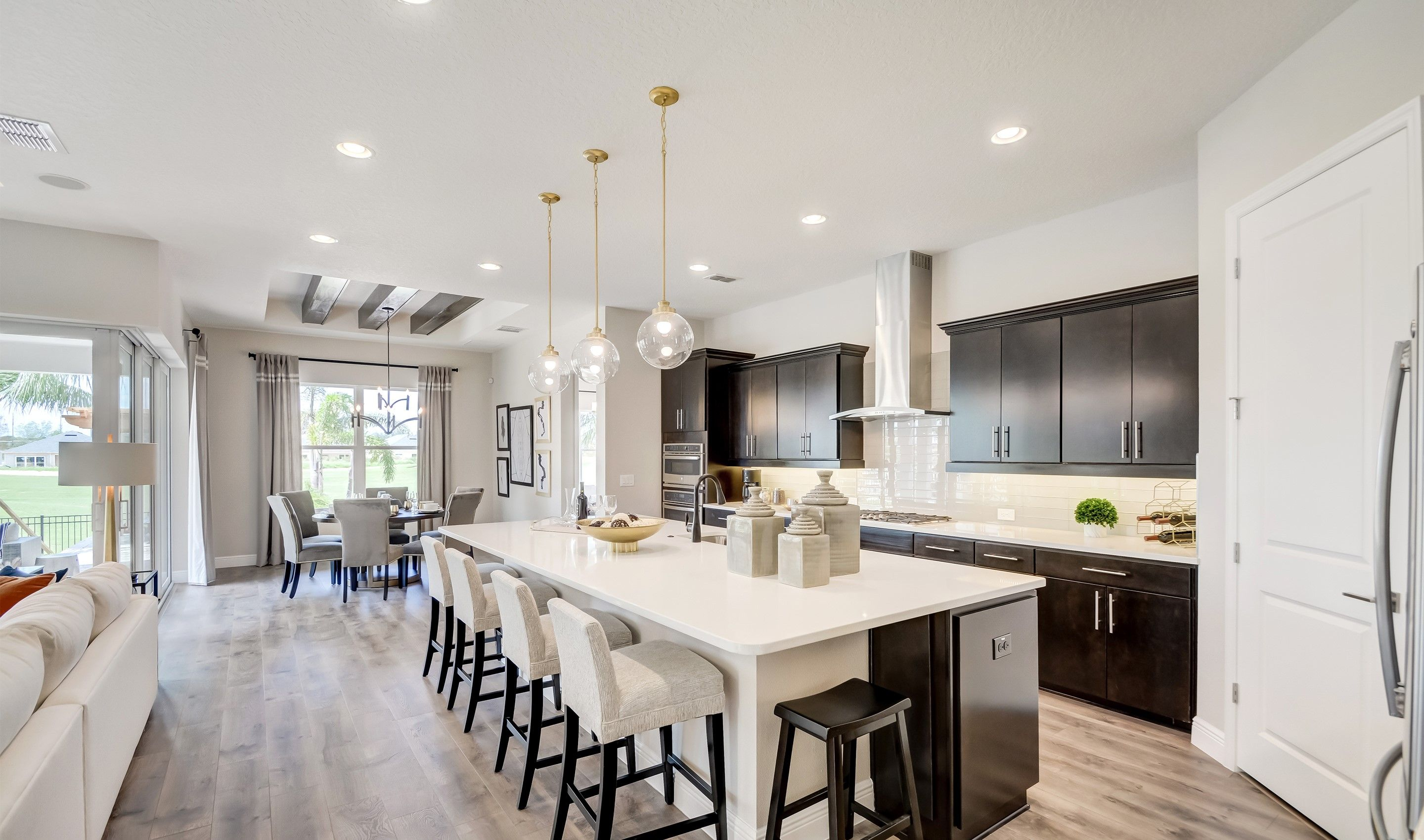 Kitchen featured in the Dominica By K. Hovnanian's® Four Seasons in Orlando, FL