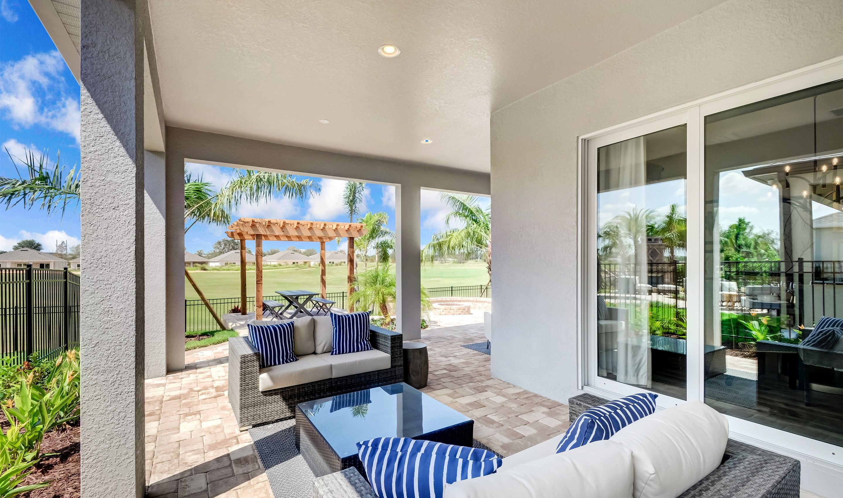 Exterior featured in the Dominica By K. Hovnanian's® Four Seasons in Orlando, FL