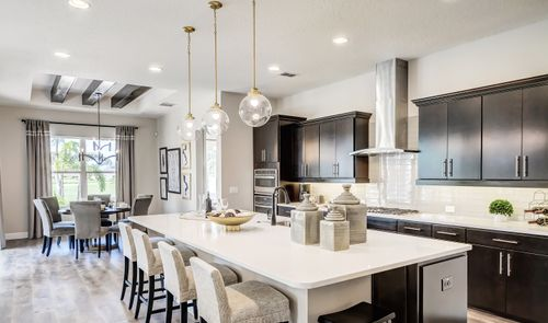 Kitchen-in-Dominica-at-K. Hovnanian's® Four Seasons at Orlando-in-Kissimmee
