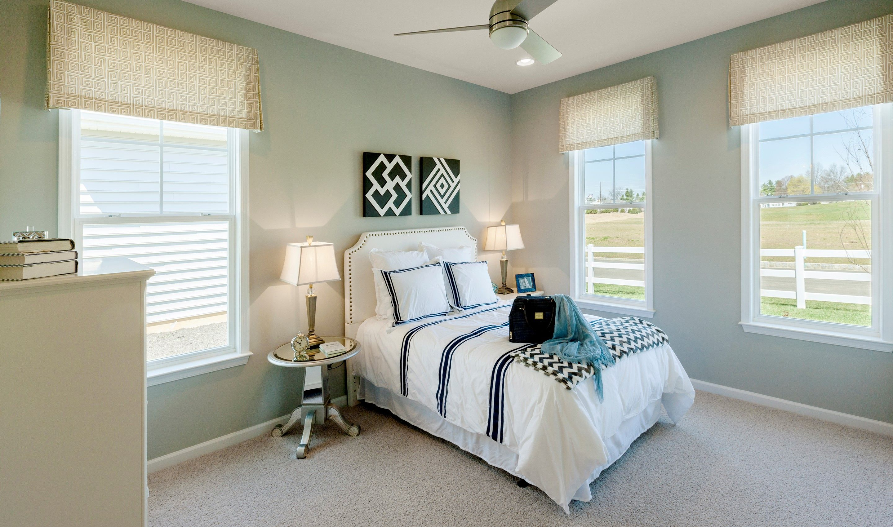 Bedroom featured in the Dorchester By K. Hovnanian's® Four Seasons in Wilmington-Newark, DE