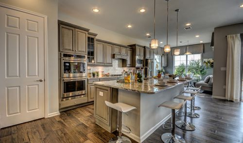 Kitchen-in-Ibiza-at-K. Hovnanian's® Four Seasons at Monroe-in-Monroe