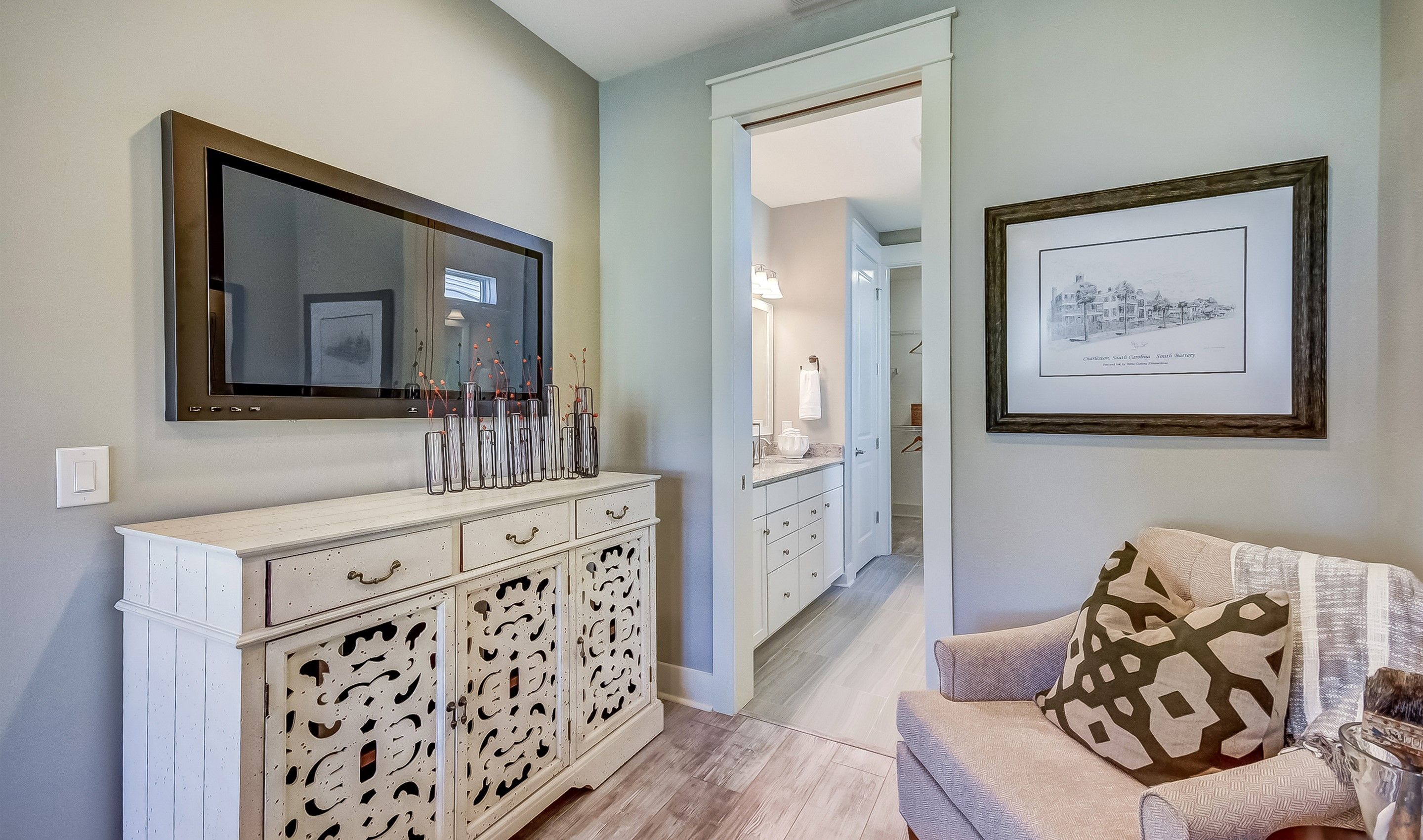 Bathroom featured in the Athens Loft By K. Hovnanian's® Four Seasons in Charleston, SC
