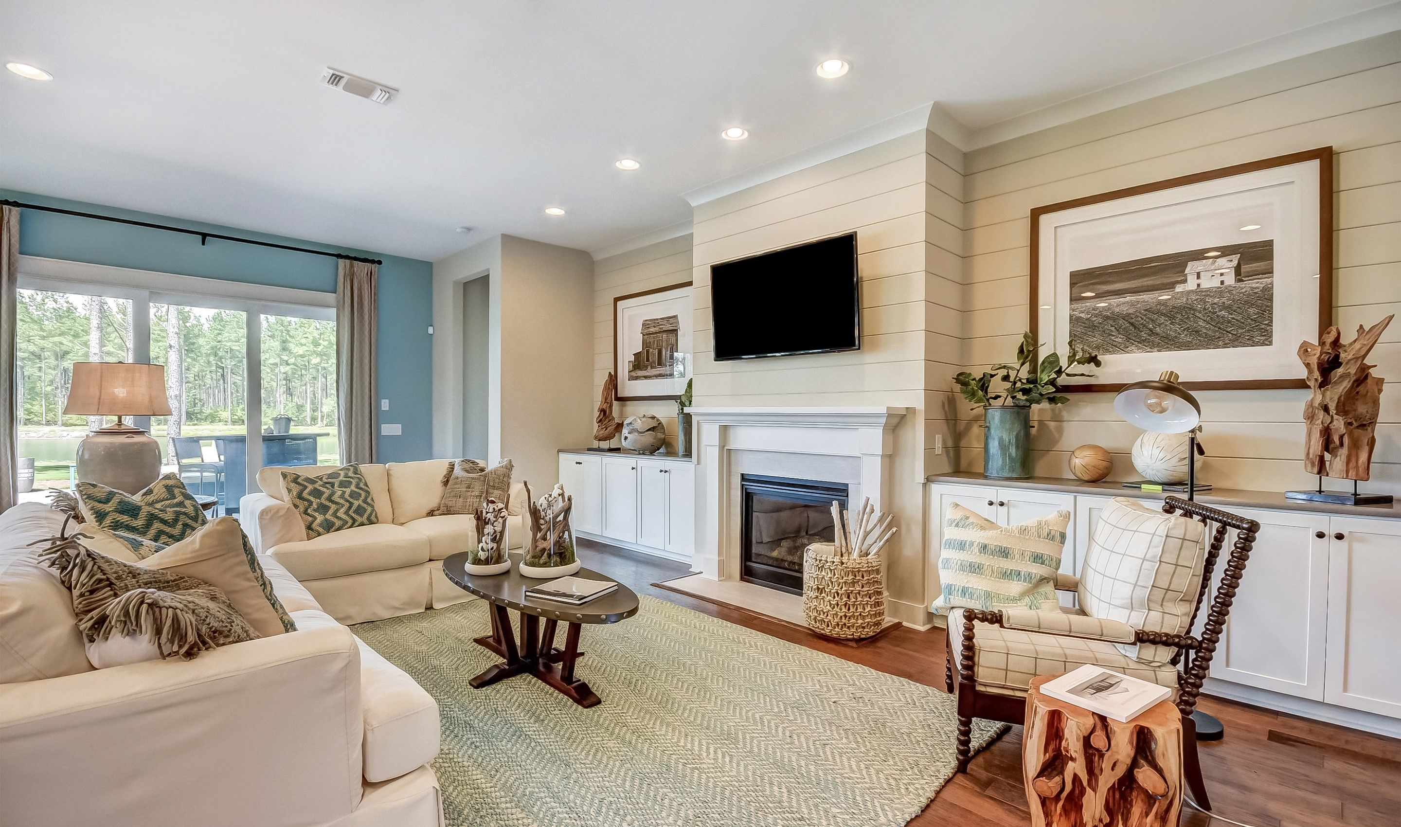 Living Area featured in the Lewes Loft By K. Hovnanian's® Four Seasons in Charleston, SC