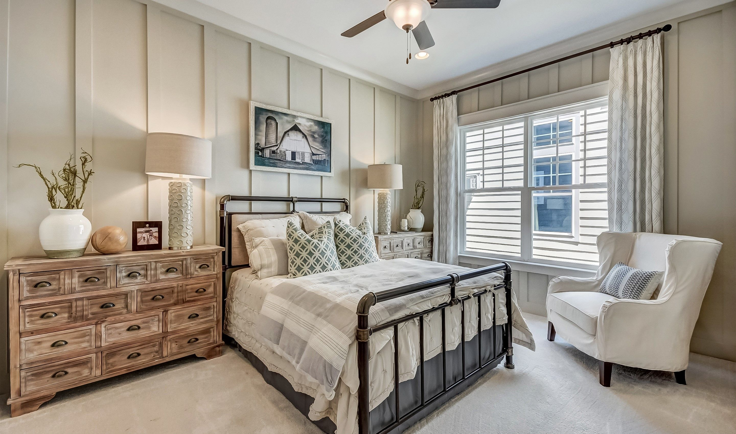 Bedroom featured in the Lewes Loft By K. Hovnanian's® Four Seasons in Charleston, SC