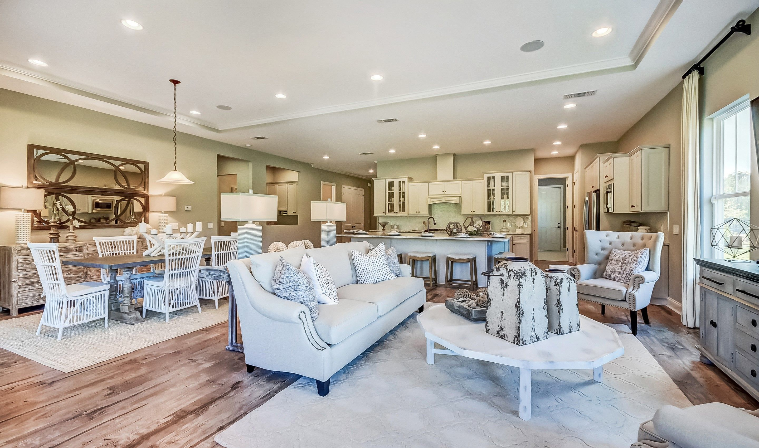 Living Area featured in the Mont Blanc By K. Hovnanian's® Four Seasons in Hilton Head, SC