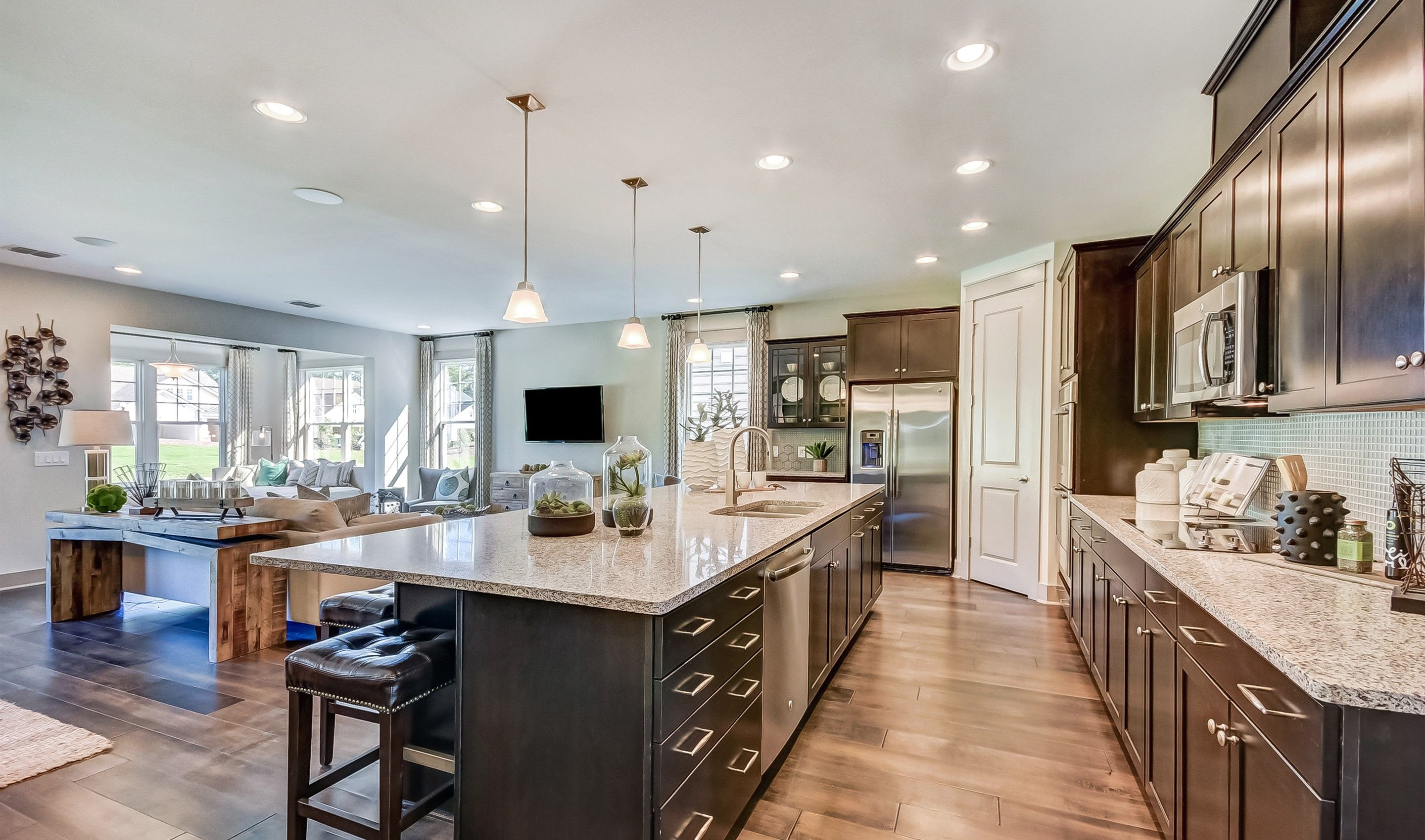 Kitchen featured in the Marseille Loft By K. Hovnanian's® Four Seasons in Charleston, SC