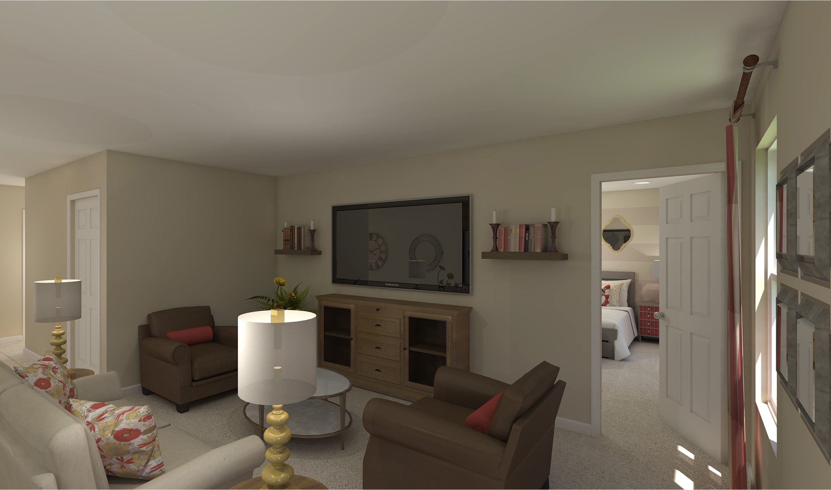 Living Area featured in the Maya By K. Hovnanian® Homes - Build on Your Lot in Mansfield, OH