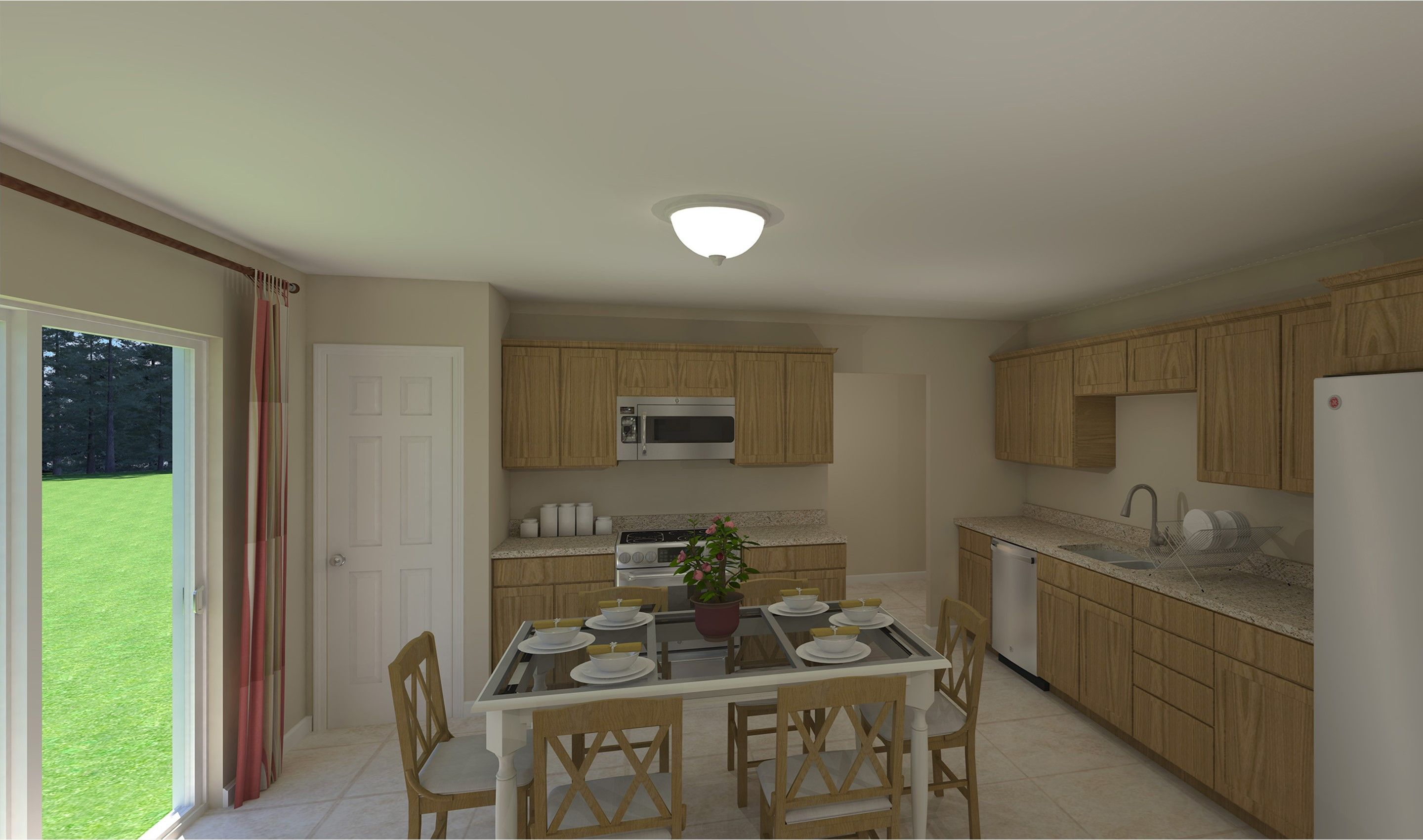 Kitchen featured in the Maya By K. Hovnanian® Homes - Build on Your Lot in Toledo, OH