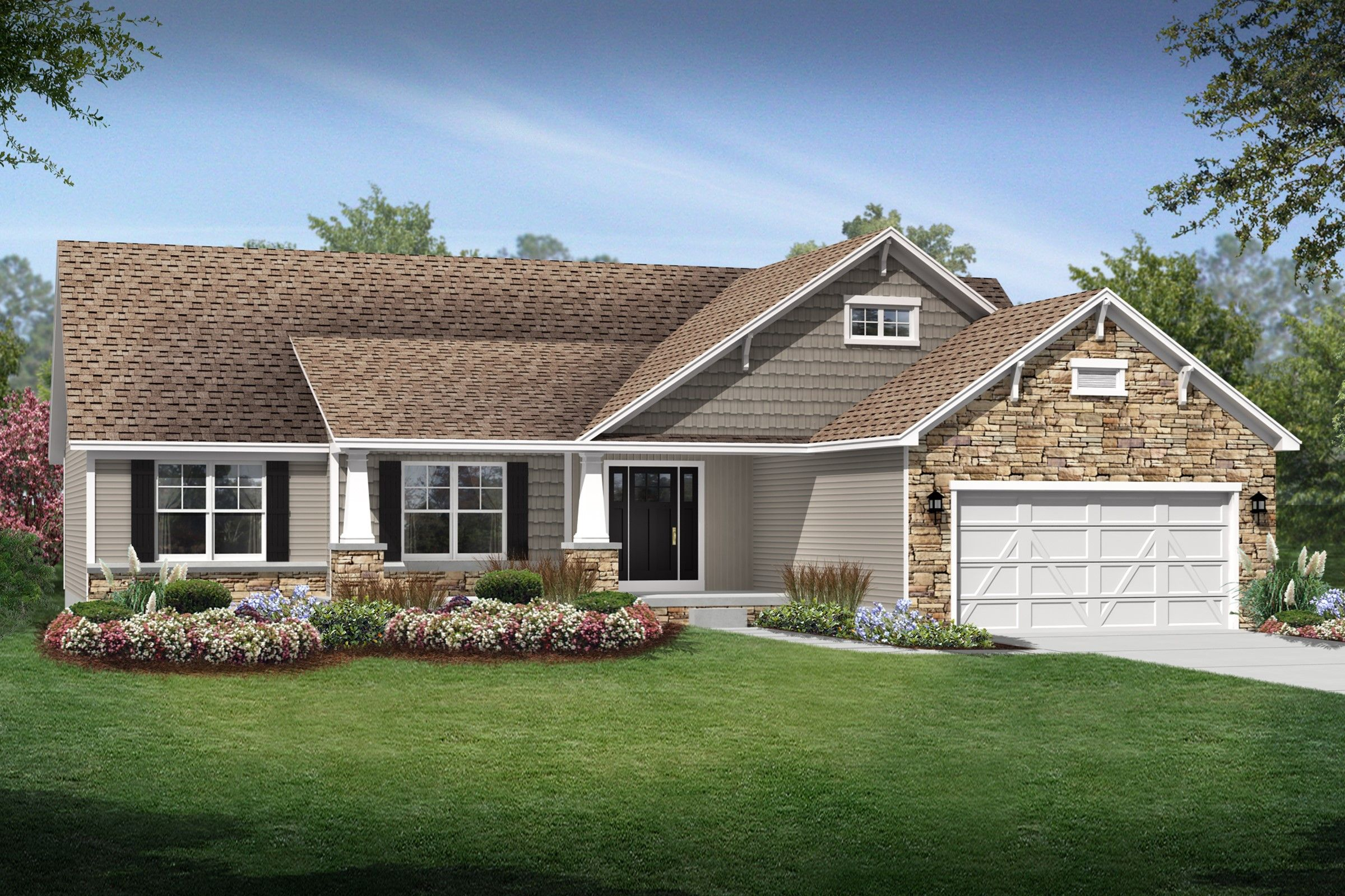 Exterior featured in the Concord By K. Hovnanian® Homes - Build on Your Lot