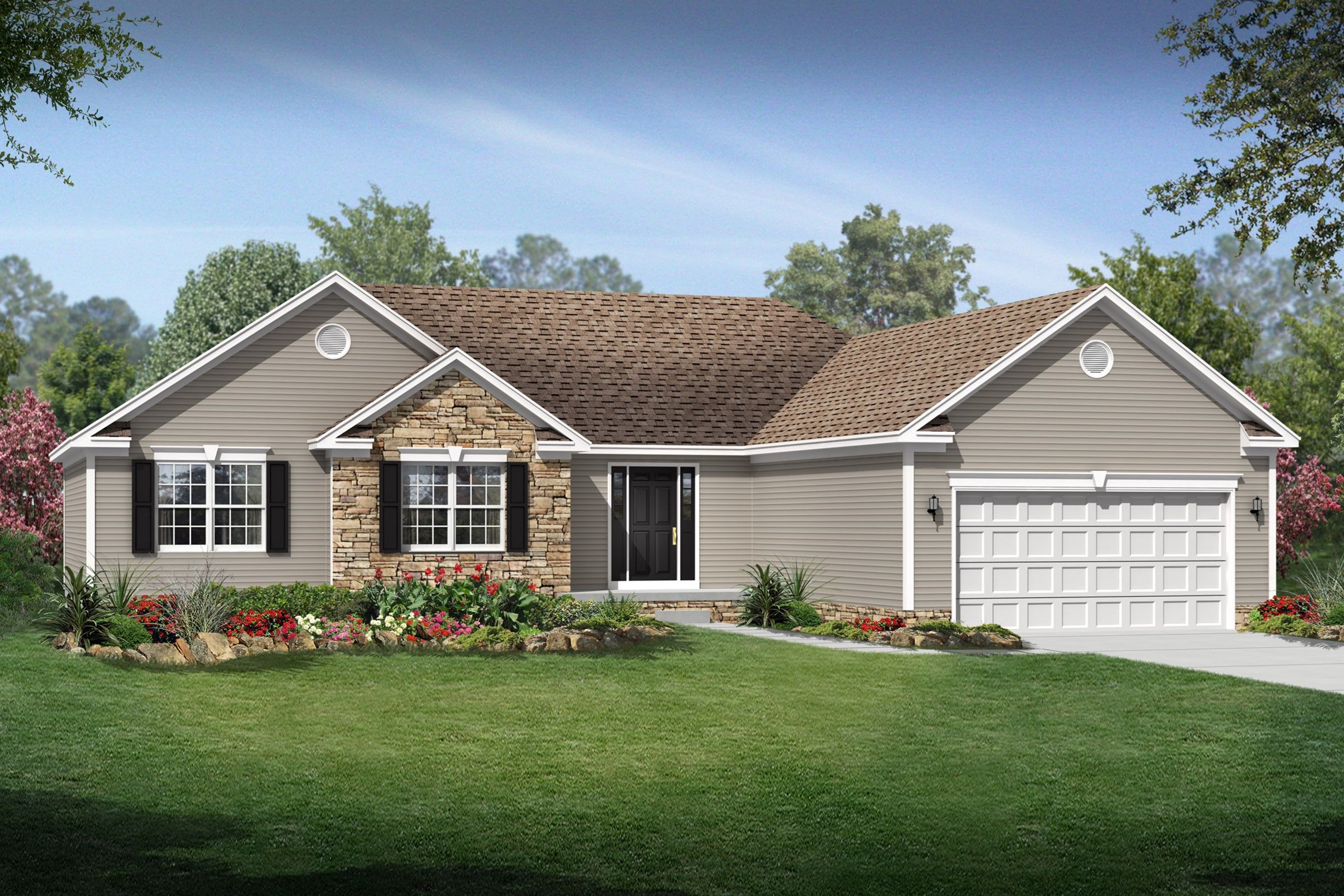 Exterior featured in the Concord By K. Hovnanian® Homes - Build on Your Lot in Toledo, OH