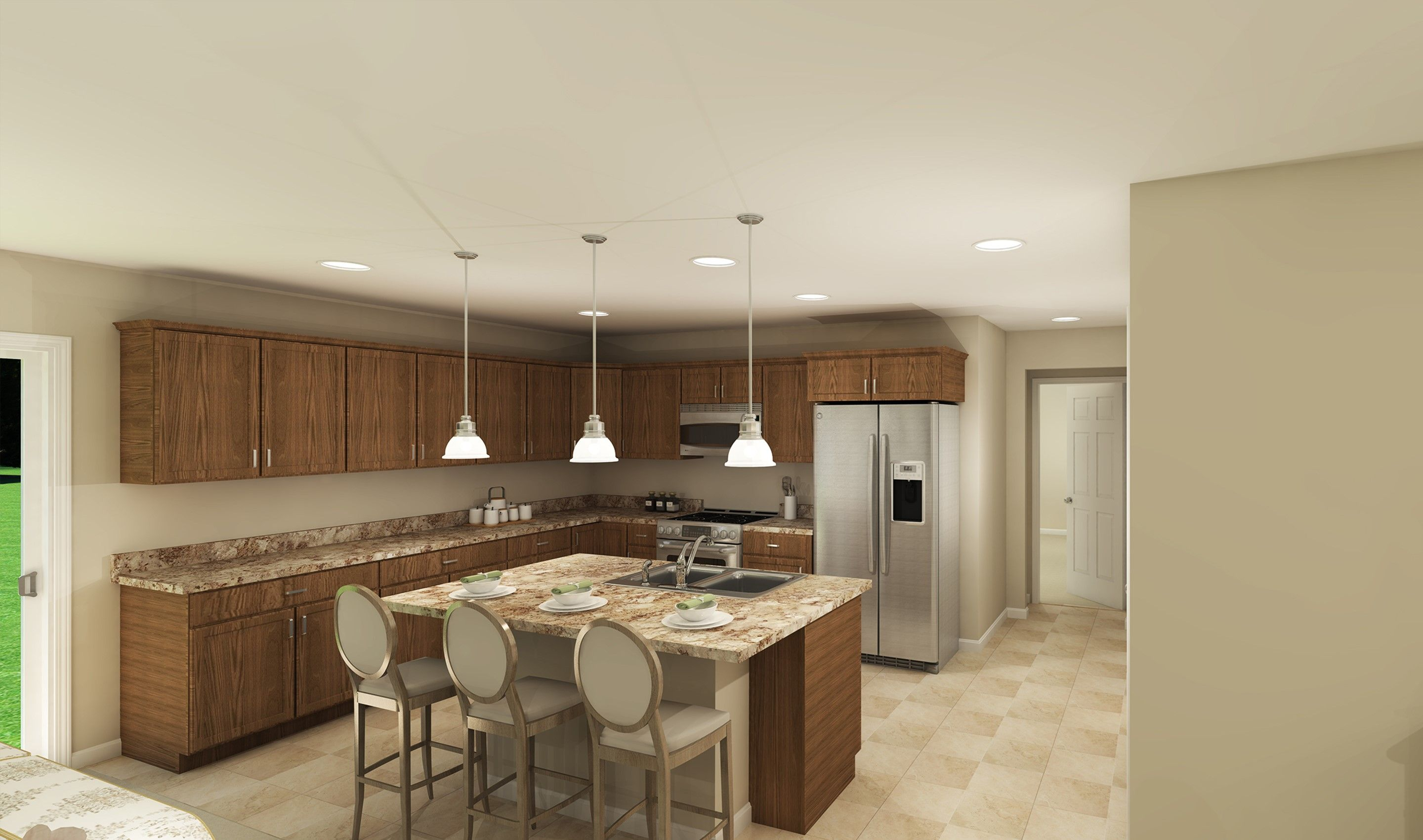 Kitchen featured in the Glenn By K. Hovnanian® Homes - Build on Your Lot in Columbus, OH