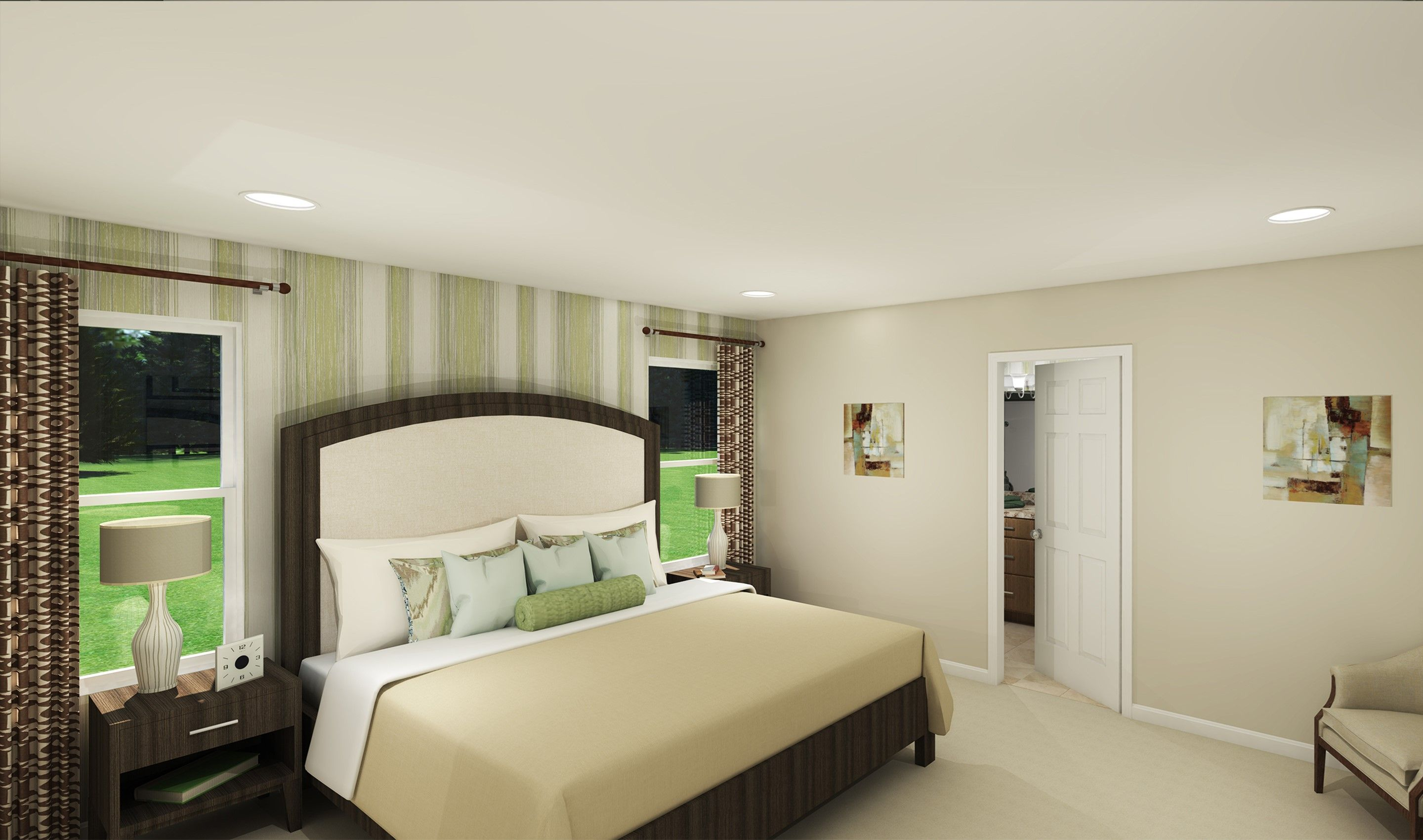 Bedroom featured in the Glenn By K. Hovnanian® Homes - Build on Your Lot in Columbus, OH