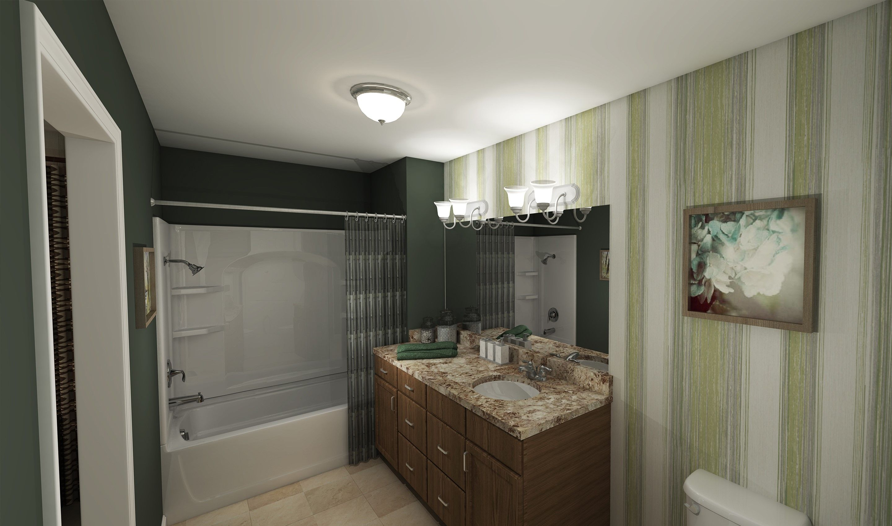 Bathroom featured in the Glenn By K. Hovnanian® Homes - Build on Your Lot in Columbus, OH