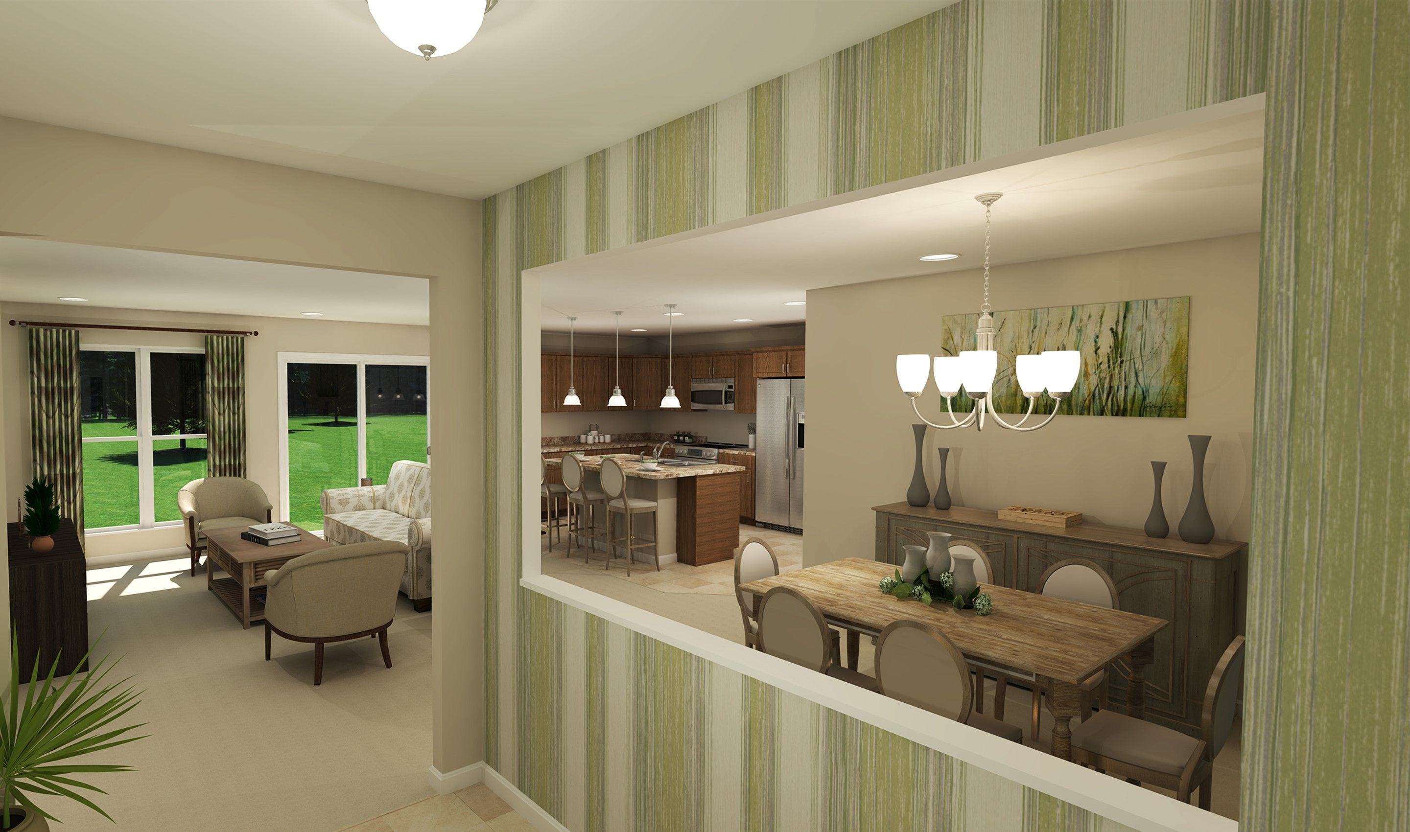 Living Area featured in the Glenn By K. Hovnanian® Homes - Build on Your Lot in Columbus, OH