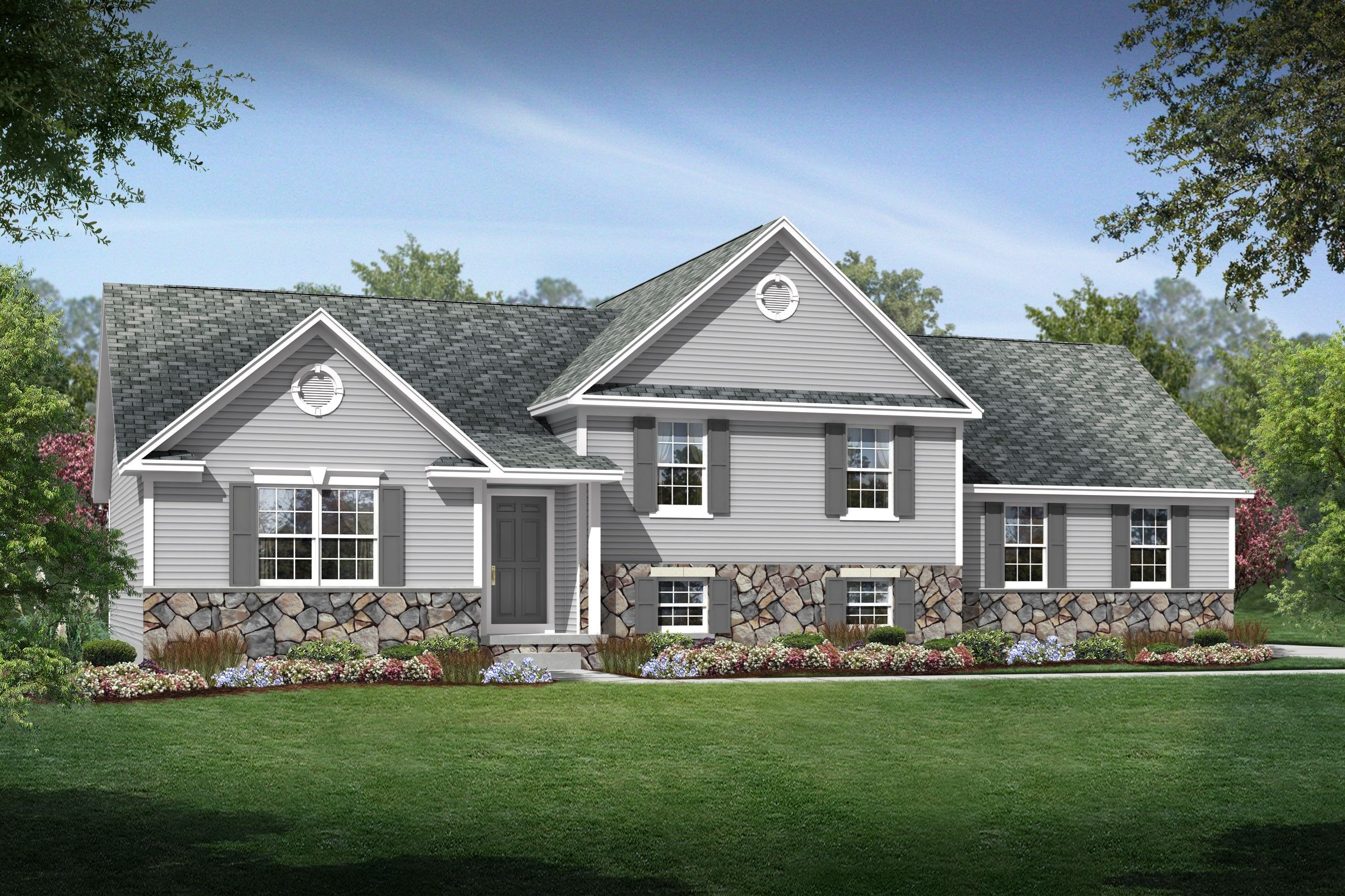 Exterior featured in the Pittsburgh By K. Hovnanian® Homes - Build on Your Lot in Toledo, OH